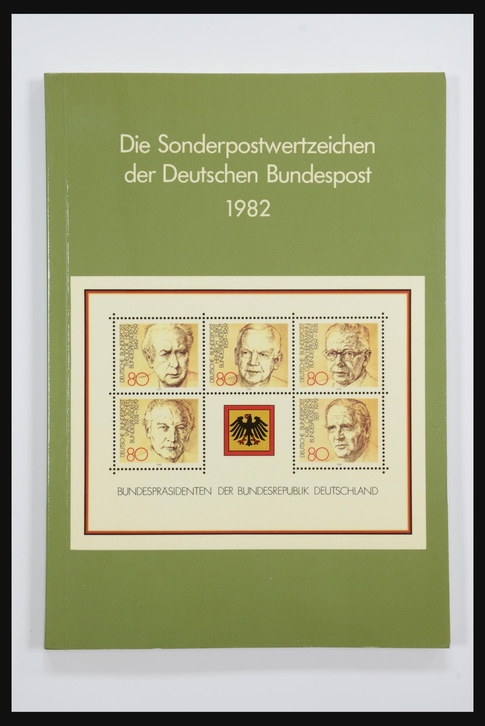 31834 010 - 31834 Bundespost yearbooks 1973(!)-1999.
