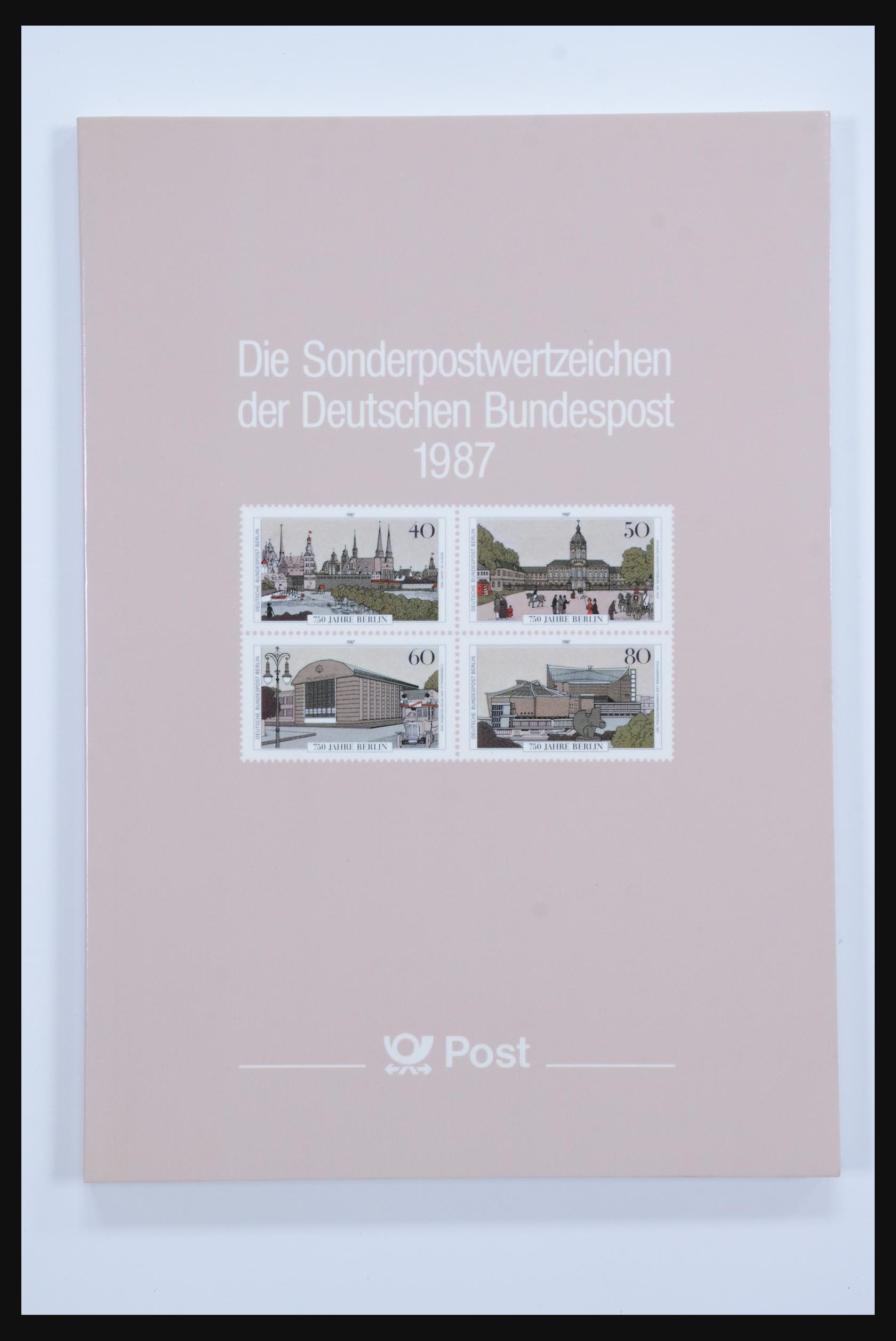 31834 015 - 31834 Bundespost yearbooks 1973(!)-1999.