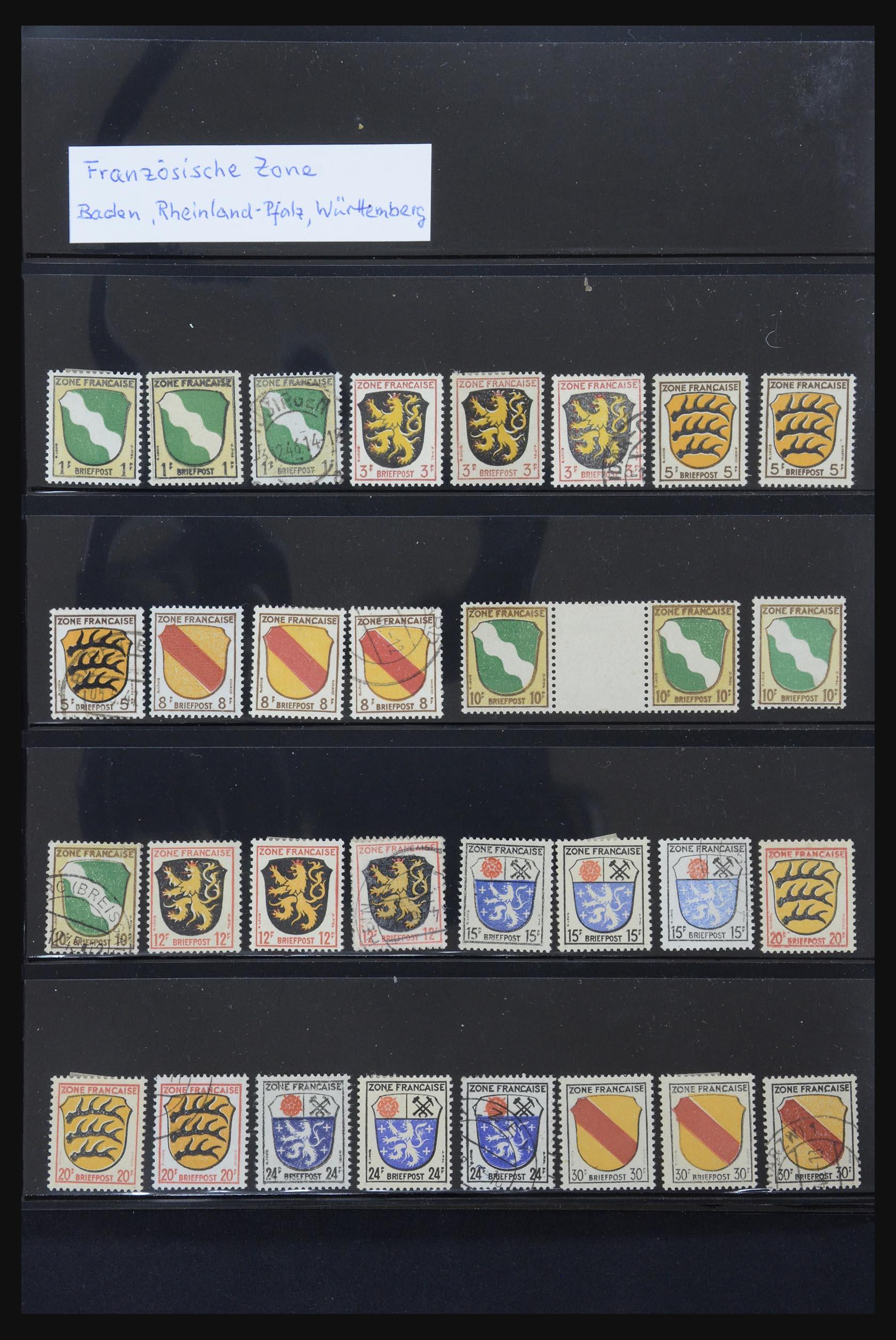 31876 001 - 31876 French Zone 1945-1948.