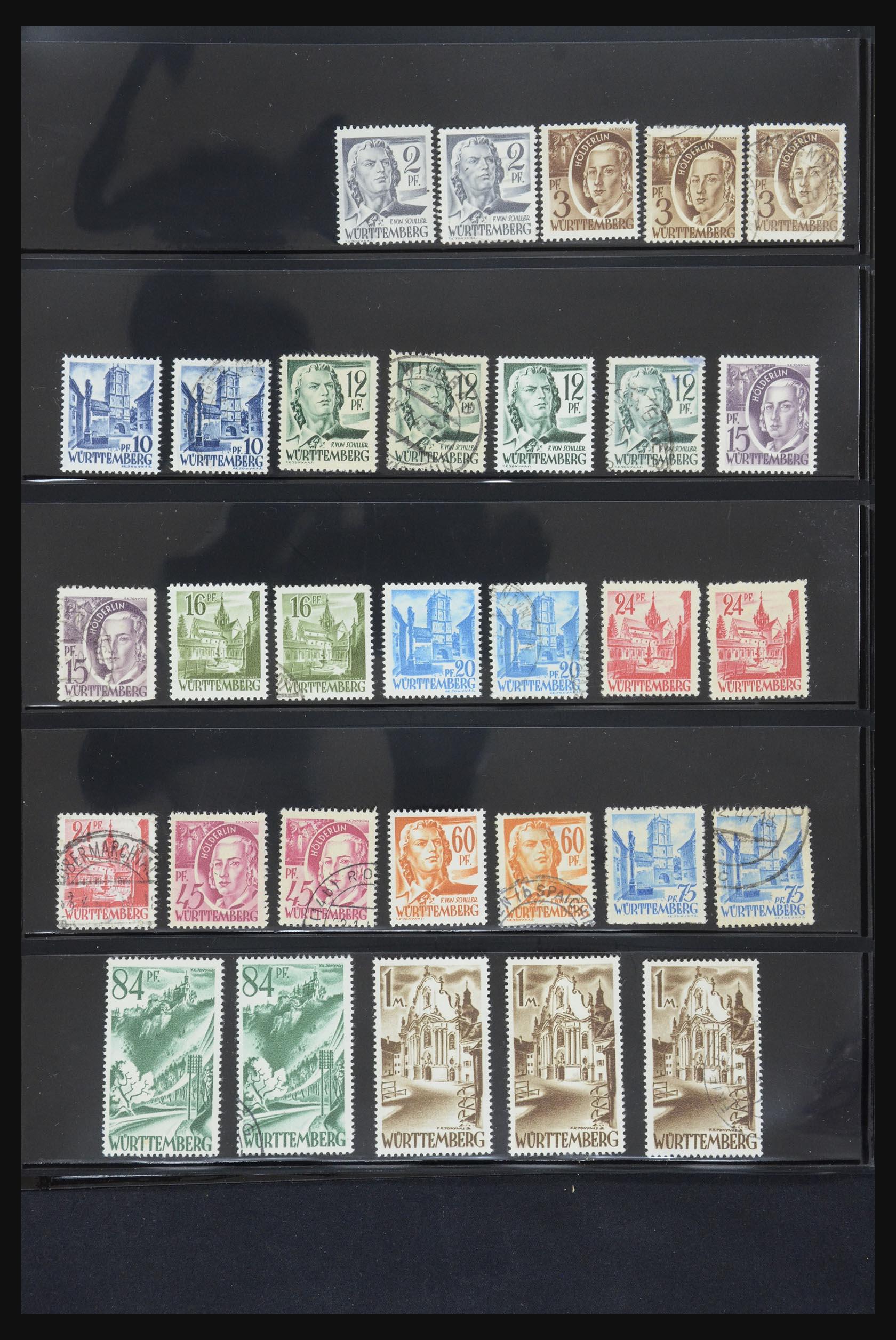 31876 013 - 31876 French Zone 1945-1948.