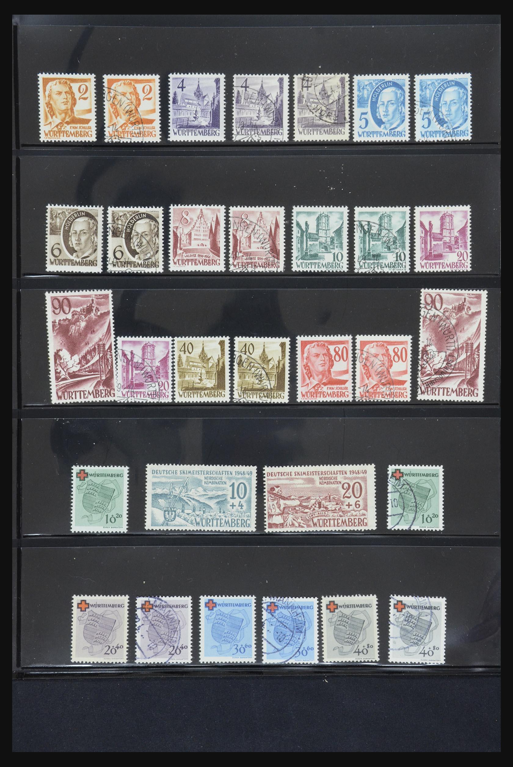 31876 015 - 31876 French Zone 1945-1948.