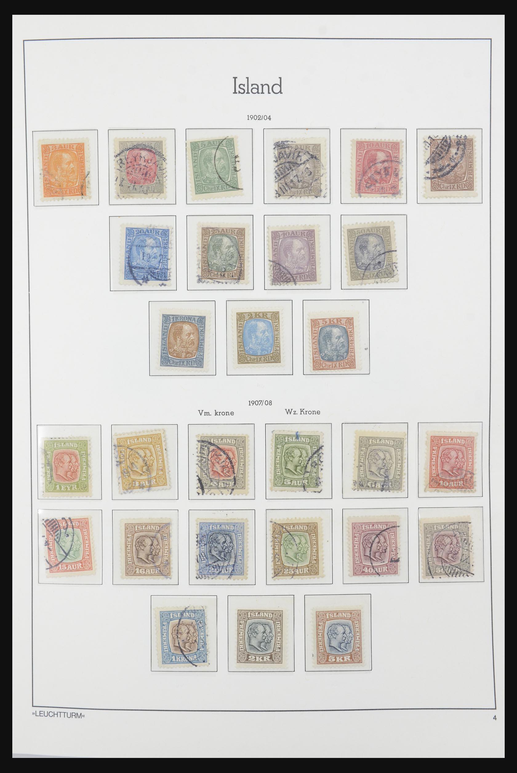 32031 004 - 32031 IJsland 1876-1991.
