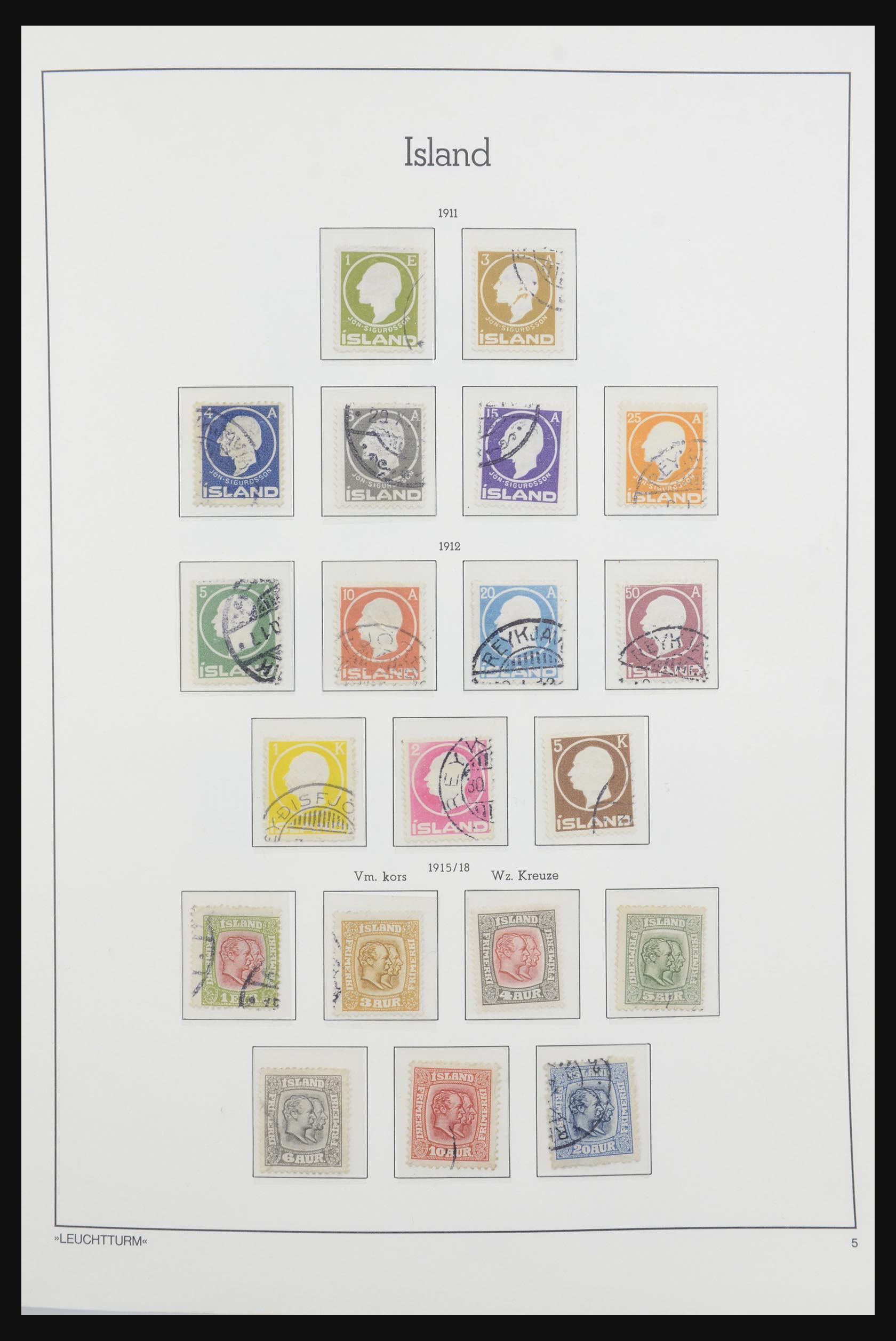 32031 005 - 32031 IJsland 1876-1991.