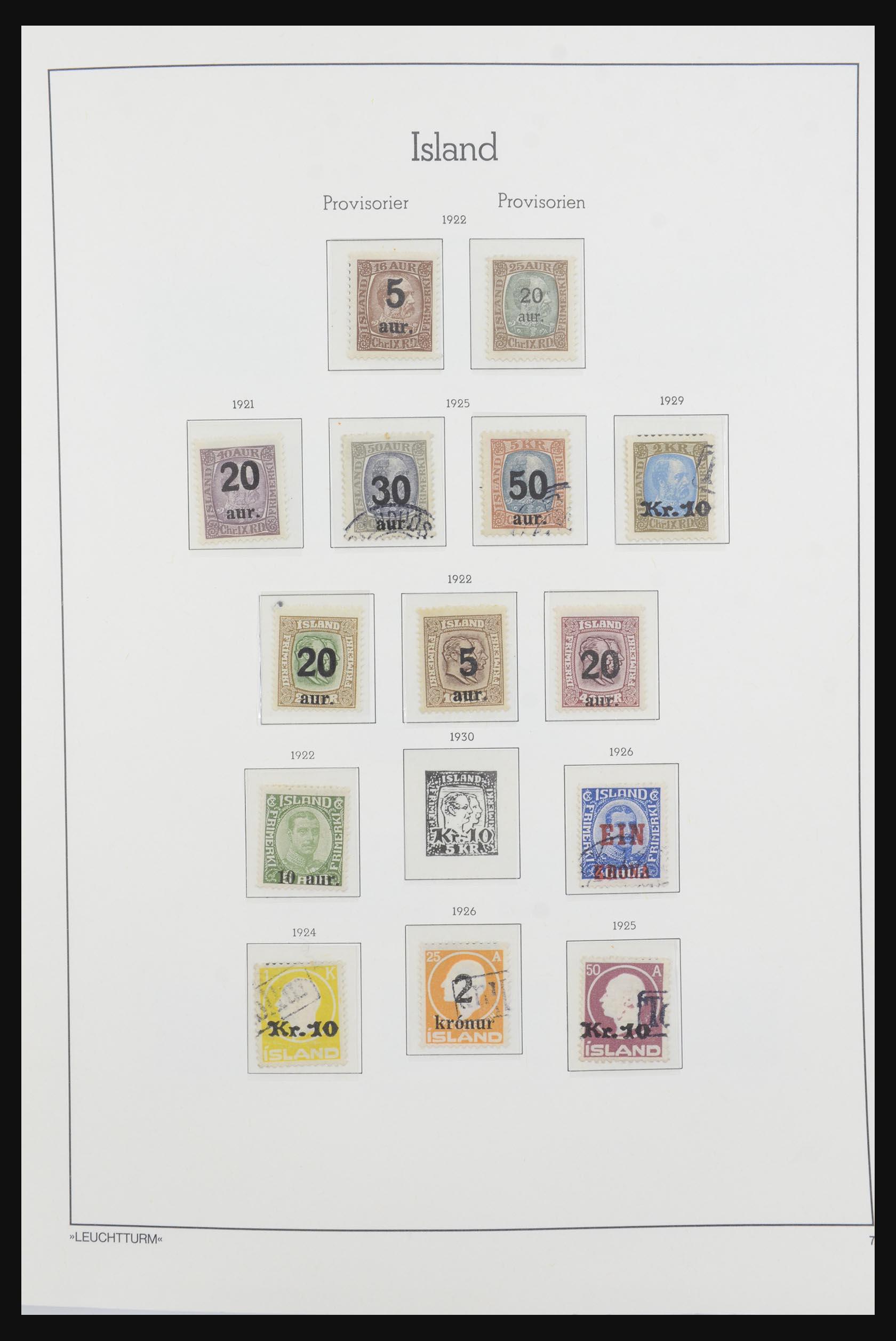 32031 007 - 32031 IJsland 1876-1991.