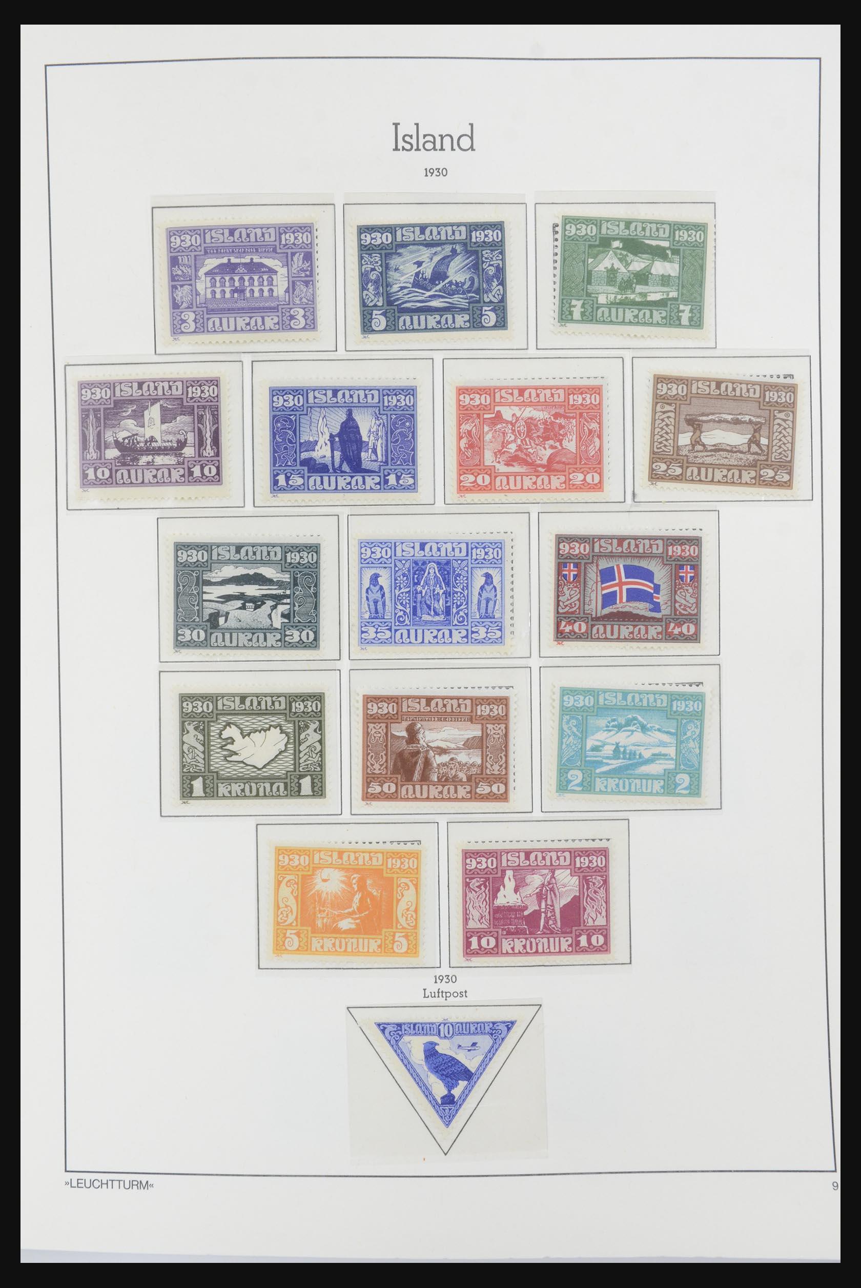32031 009 - 32031 IJsland 1876-1991.