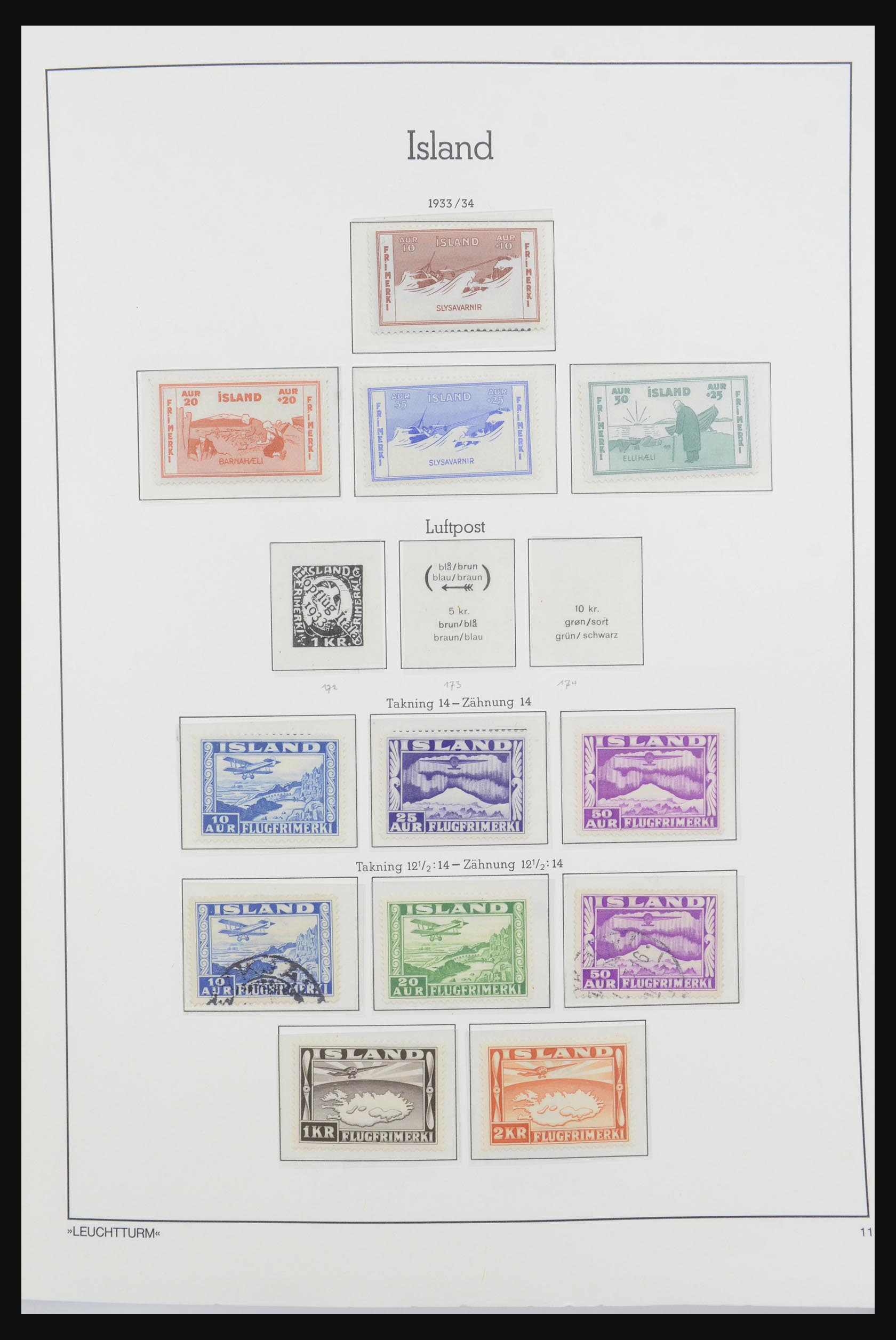 32031 011 - 32031 IJsland 1876-1991.