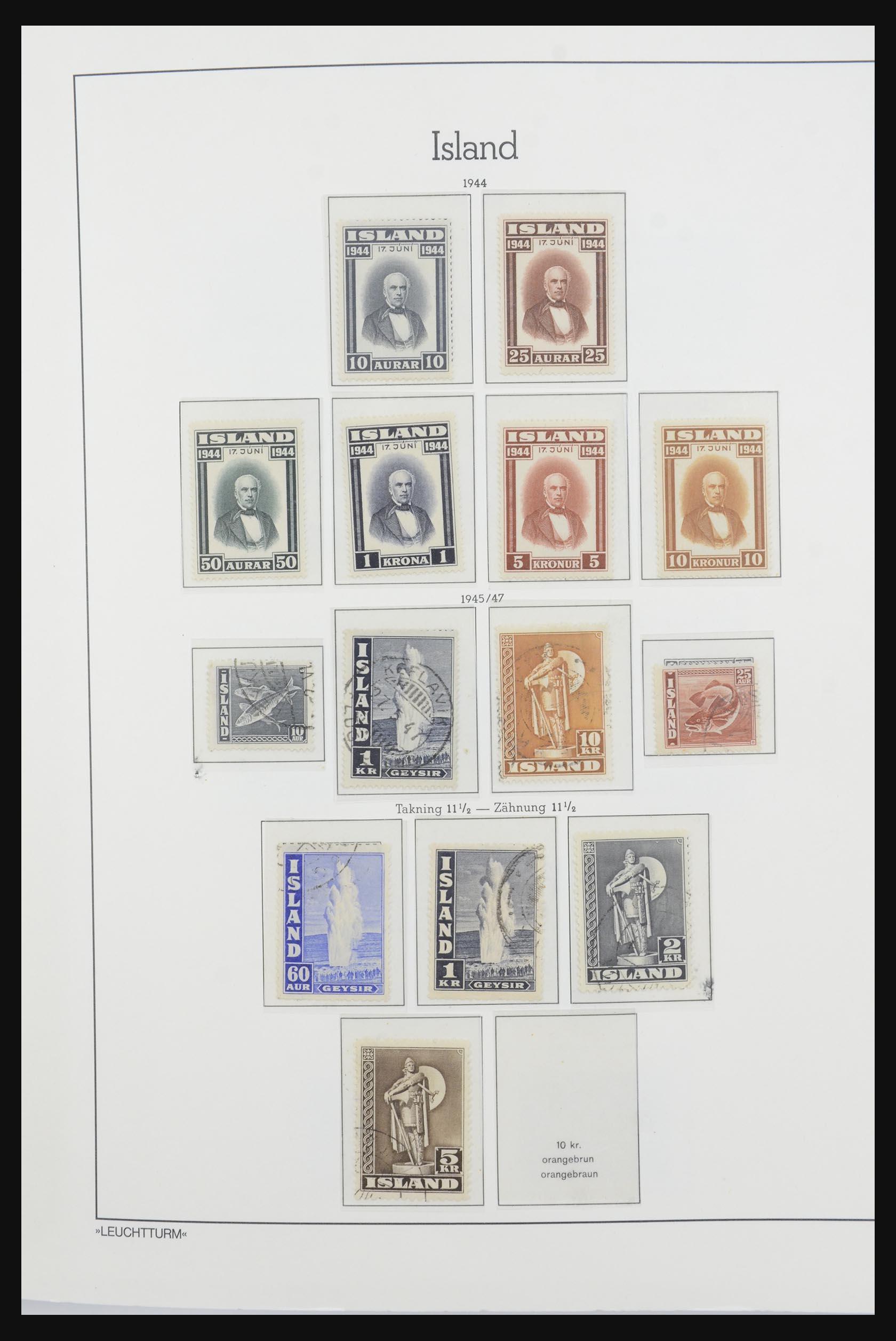 32031 020 - 32031 IJsland 1876-1991.