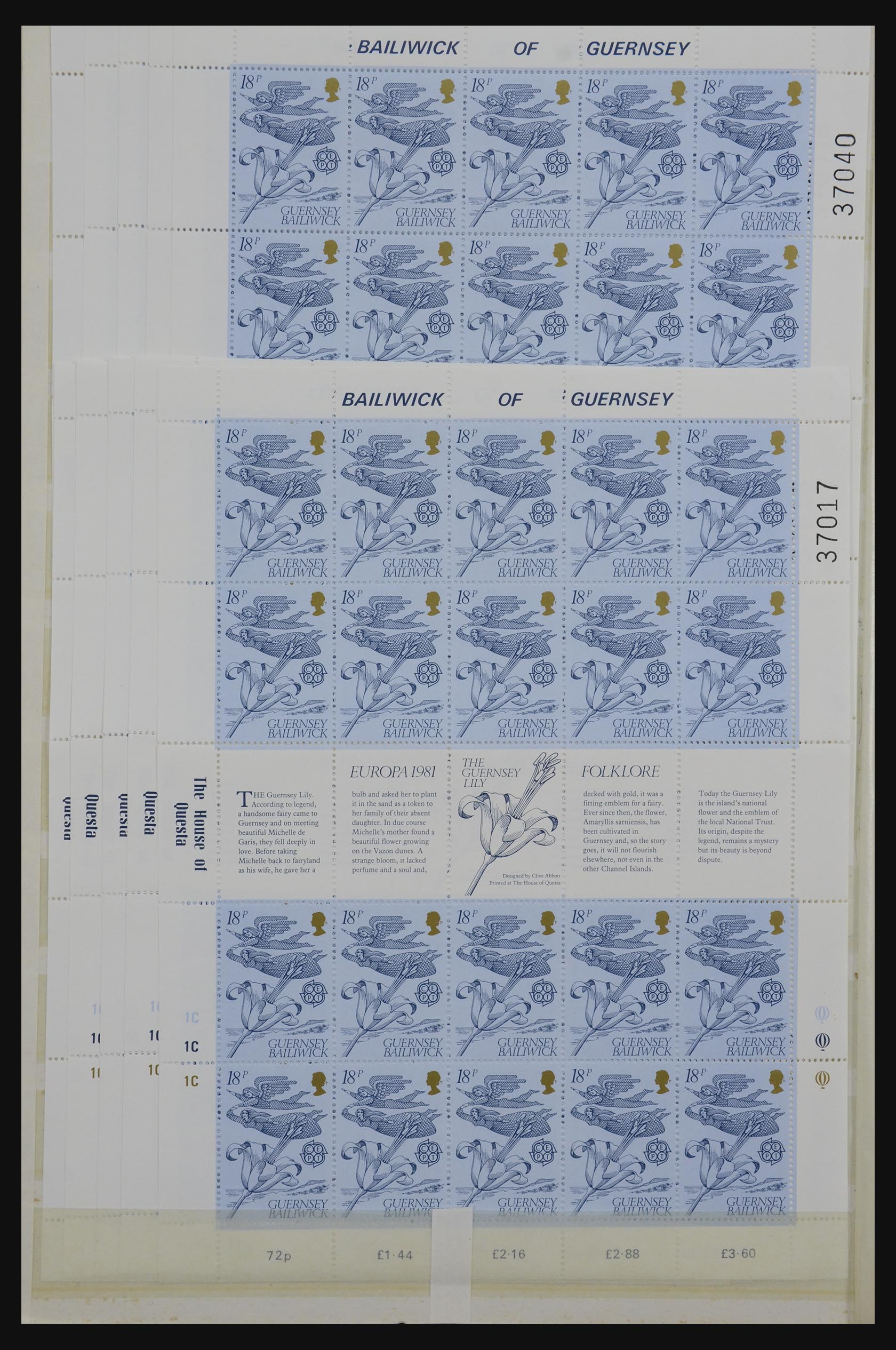 32180 016 - 32180 Guernsey 1972-1992.