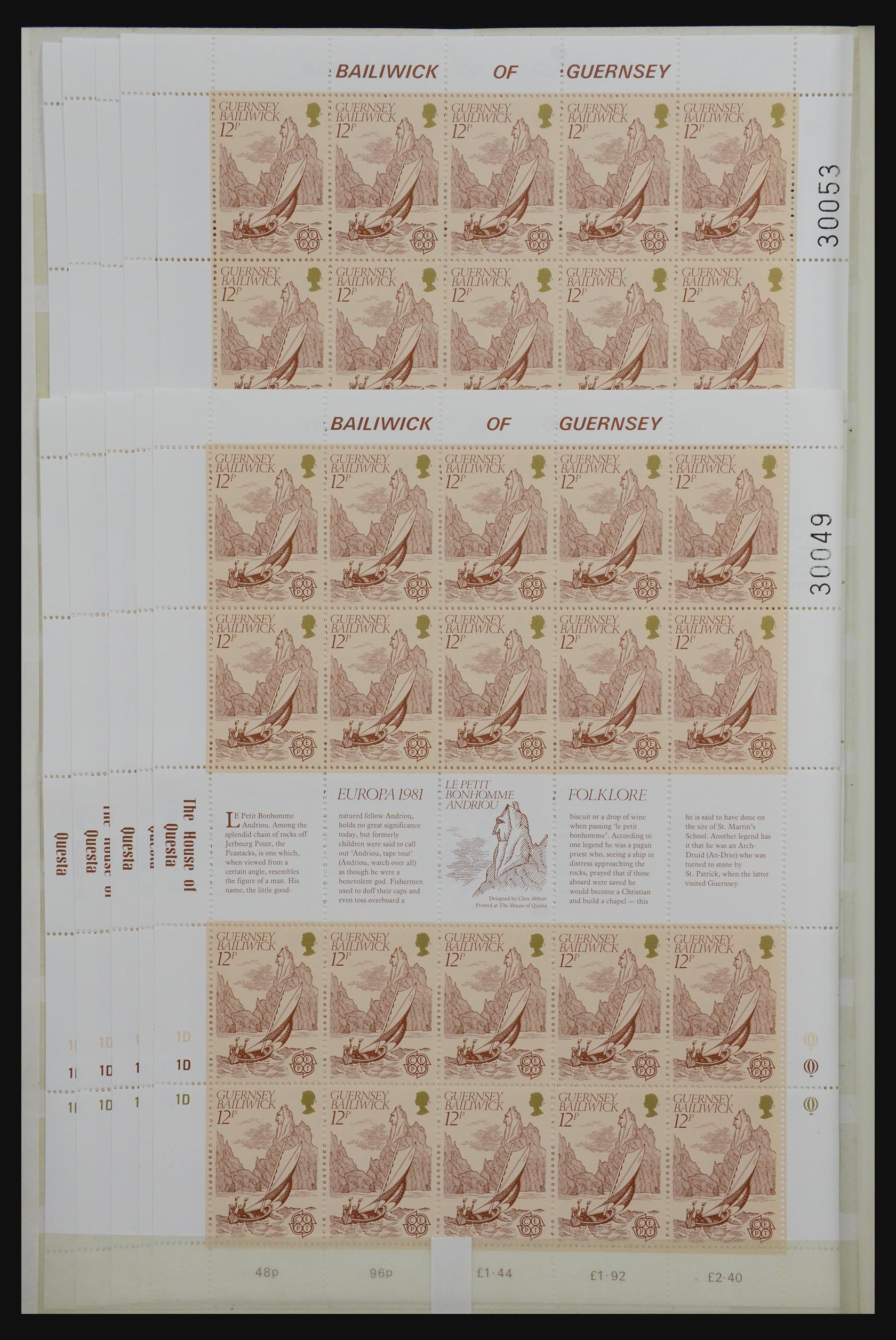 32180 018 - 32180 Guernsey 1972-1992.
