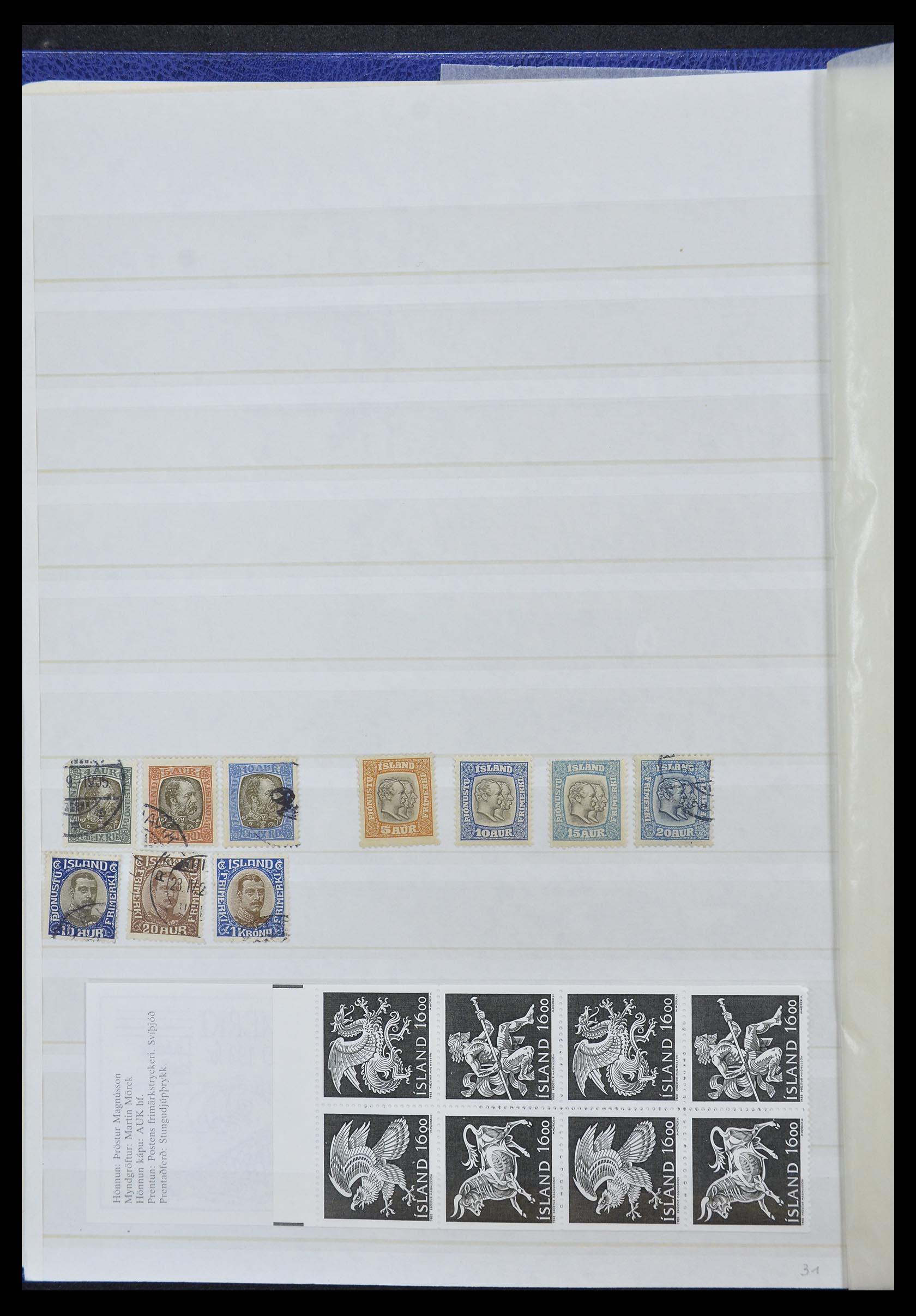33185 002 - Postzegelverzameling 33184 Finland 1856-1990.