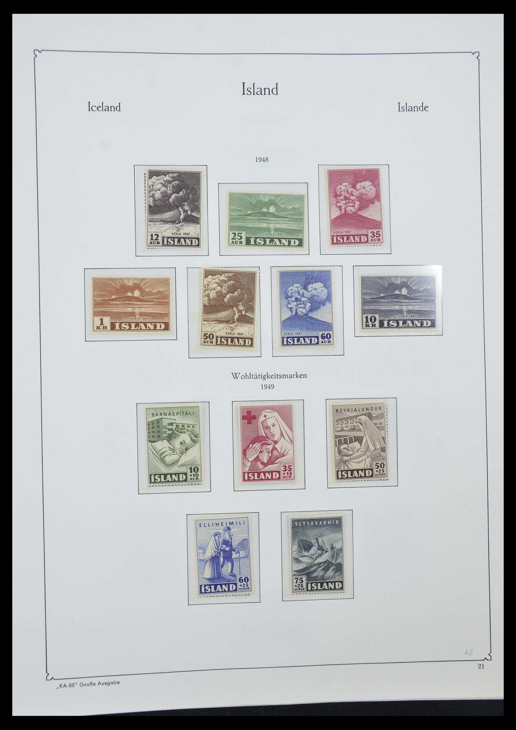 33185 004 - Postzegelverzameling 33184 Finland 1856-1990.