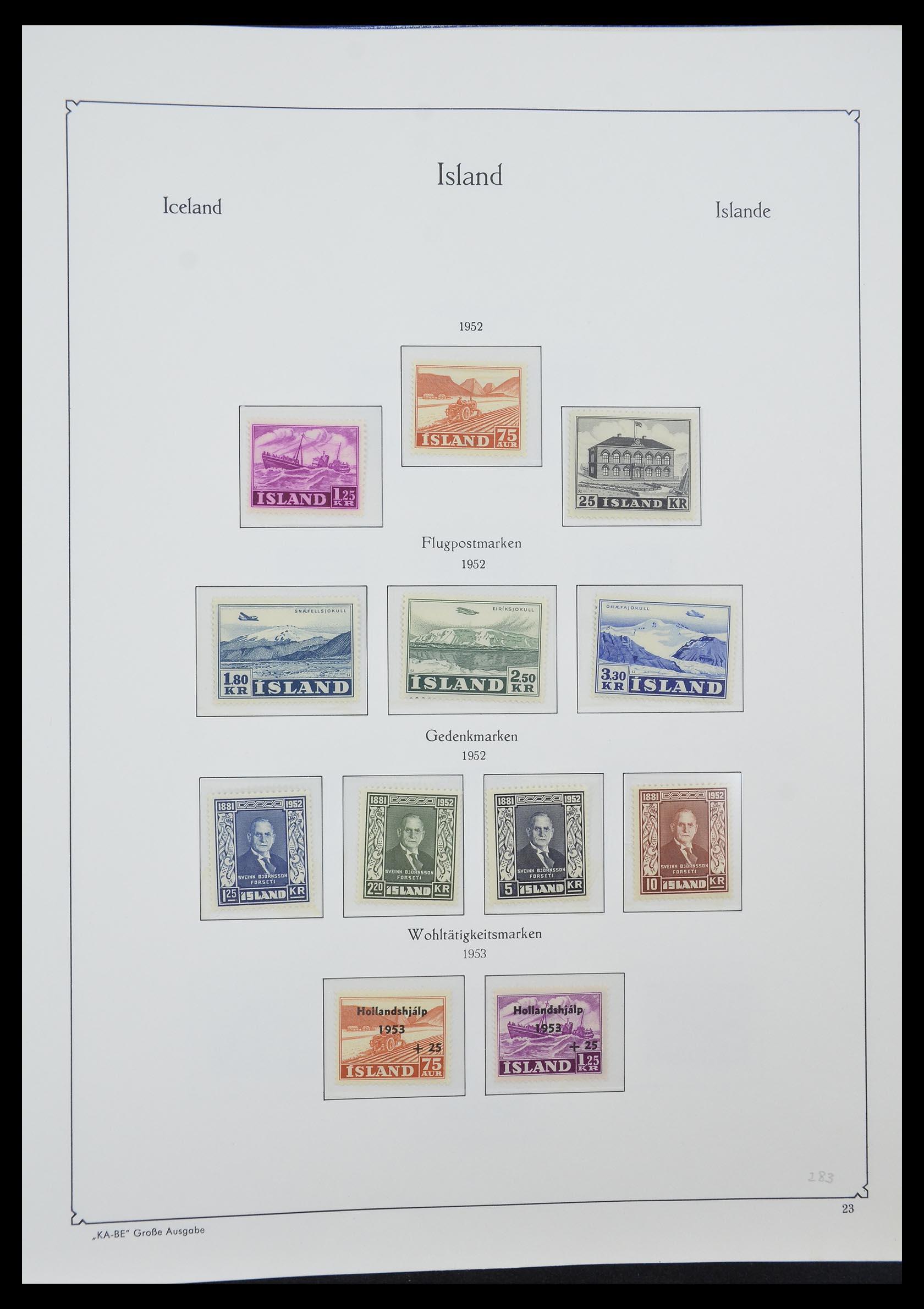33185 006 - Postzegelverzameling 33184 Finland 1856-1990.