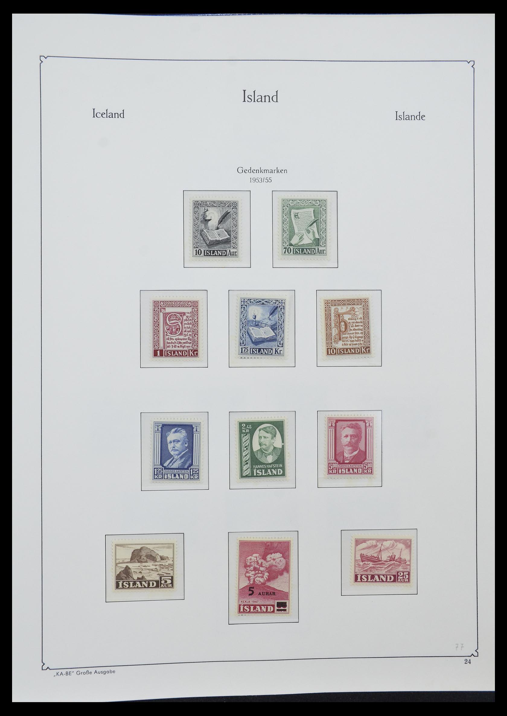 33185 007 - Postzegelverzameling 33184 Finland 1856-1990.