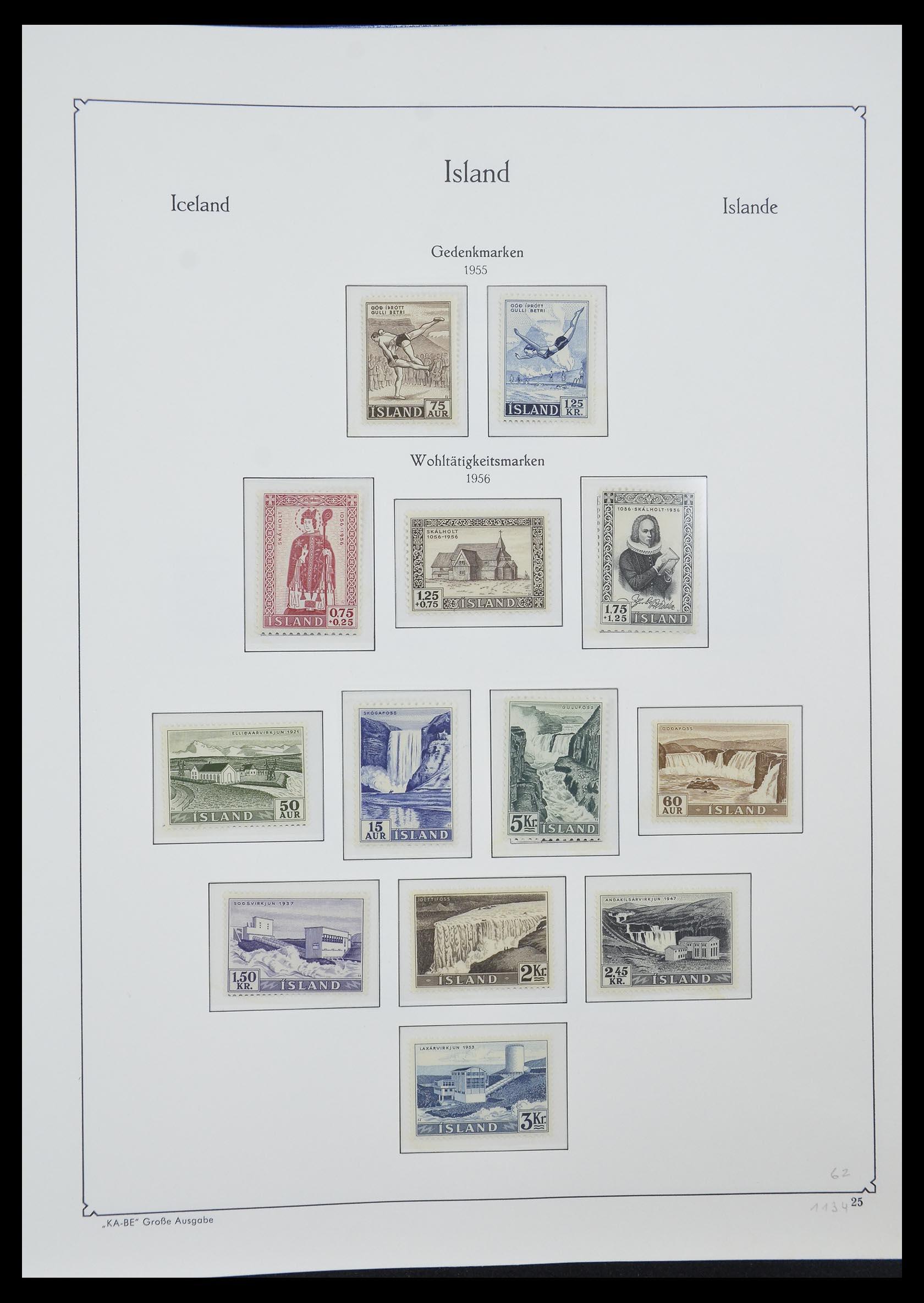 33185 008 - Postzegelverzameling 33184 Finland 1856-1990.