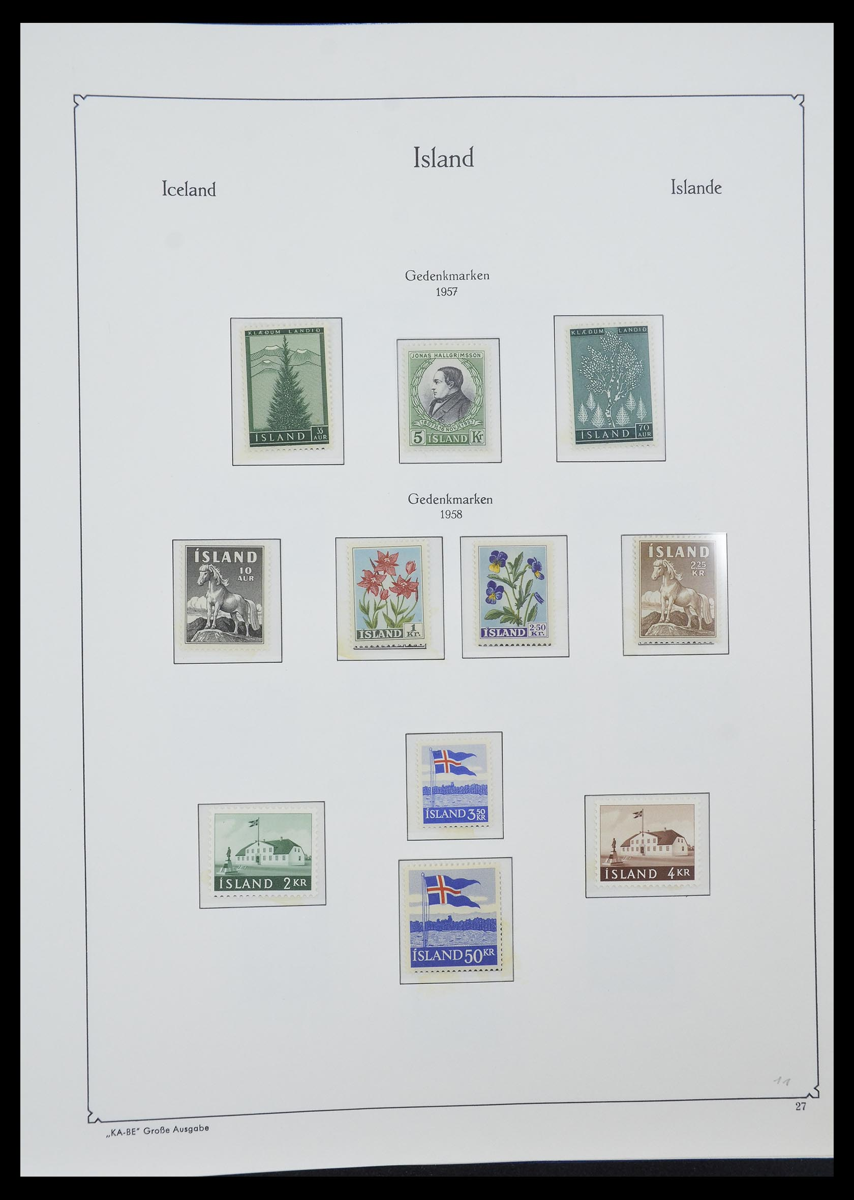 33185 010 - Postzegelverzameling 33184 Finland 1856-1990.