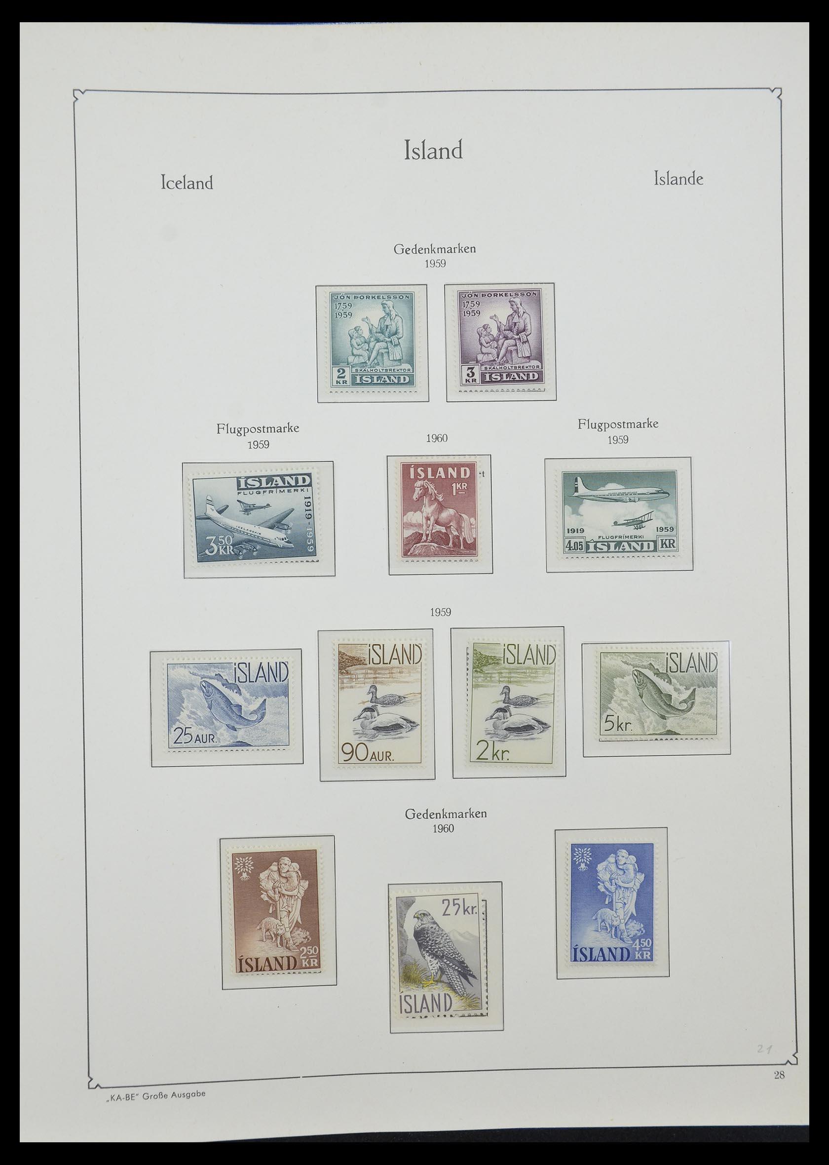 33185 011 - Postzegelverzameling 33184 Finland 1856-1990.