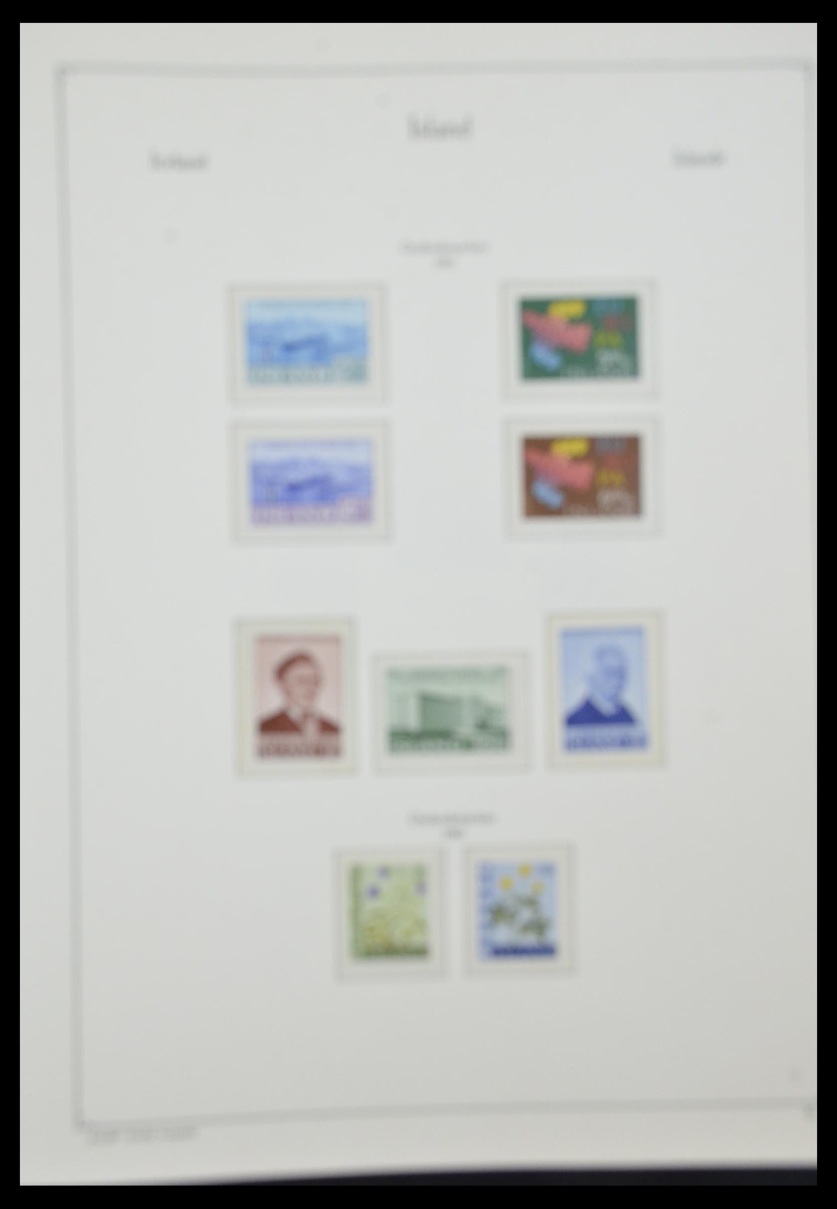 33185 013 - Postzegelverzameling 33184 Finland 1856-1990.