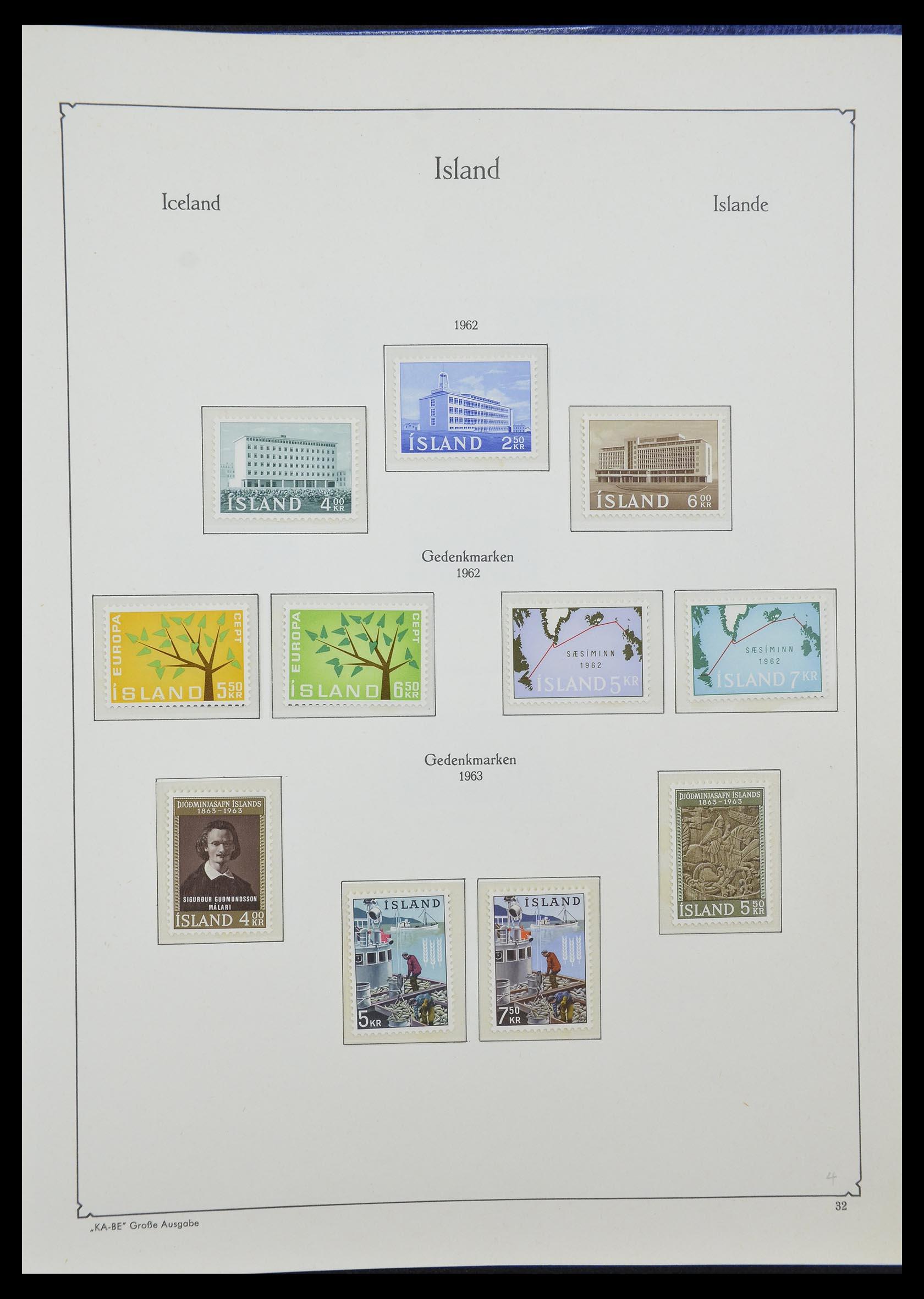 33185 015 - Postzegelverzameling 33184 Finland 1856-1990.