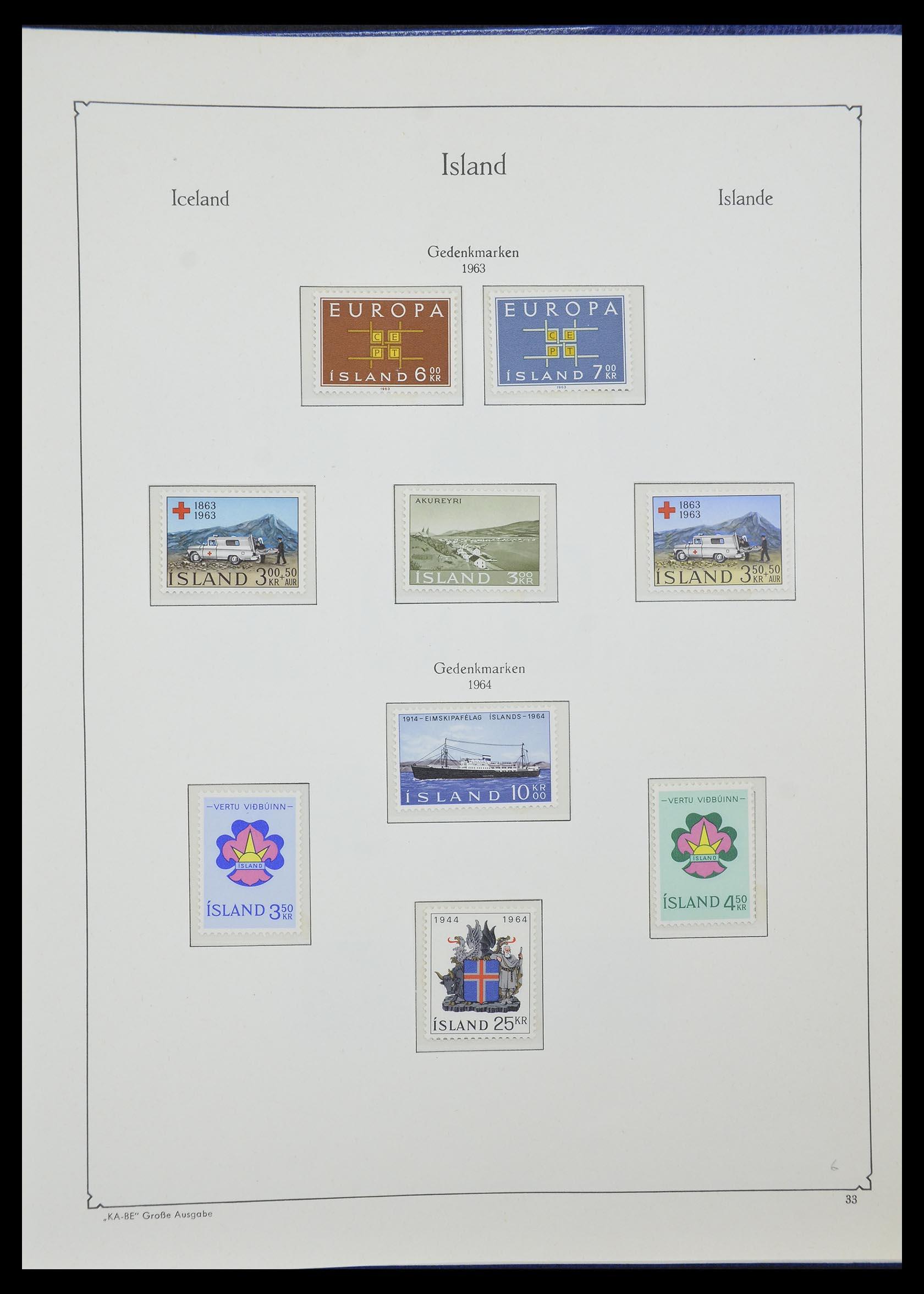 33185 016 - Postzegelverzameling 33184 Finland 1856-1990.