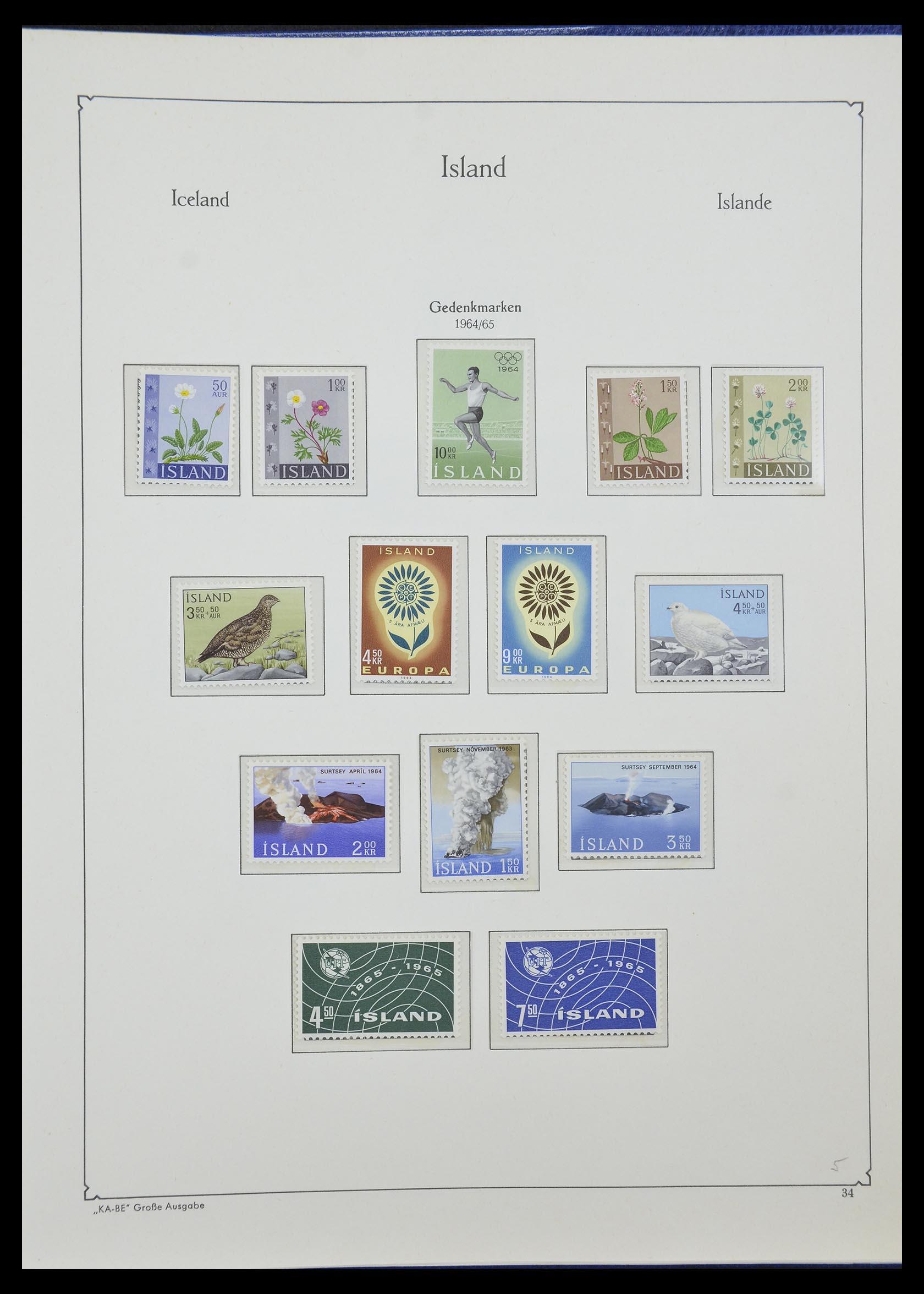33185 017 - Postzegelverzameling 33184 Finland 1856-1990.