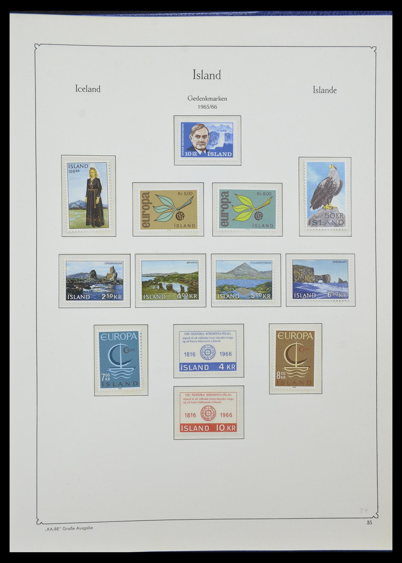 33185 018 - Postzegelverzameling 33184 Finland 1856-1990.