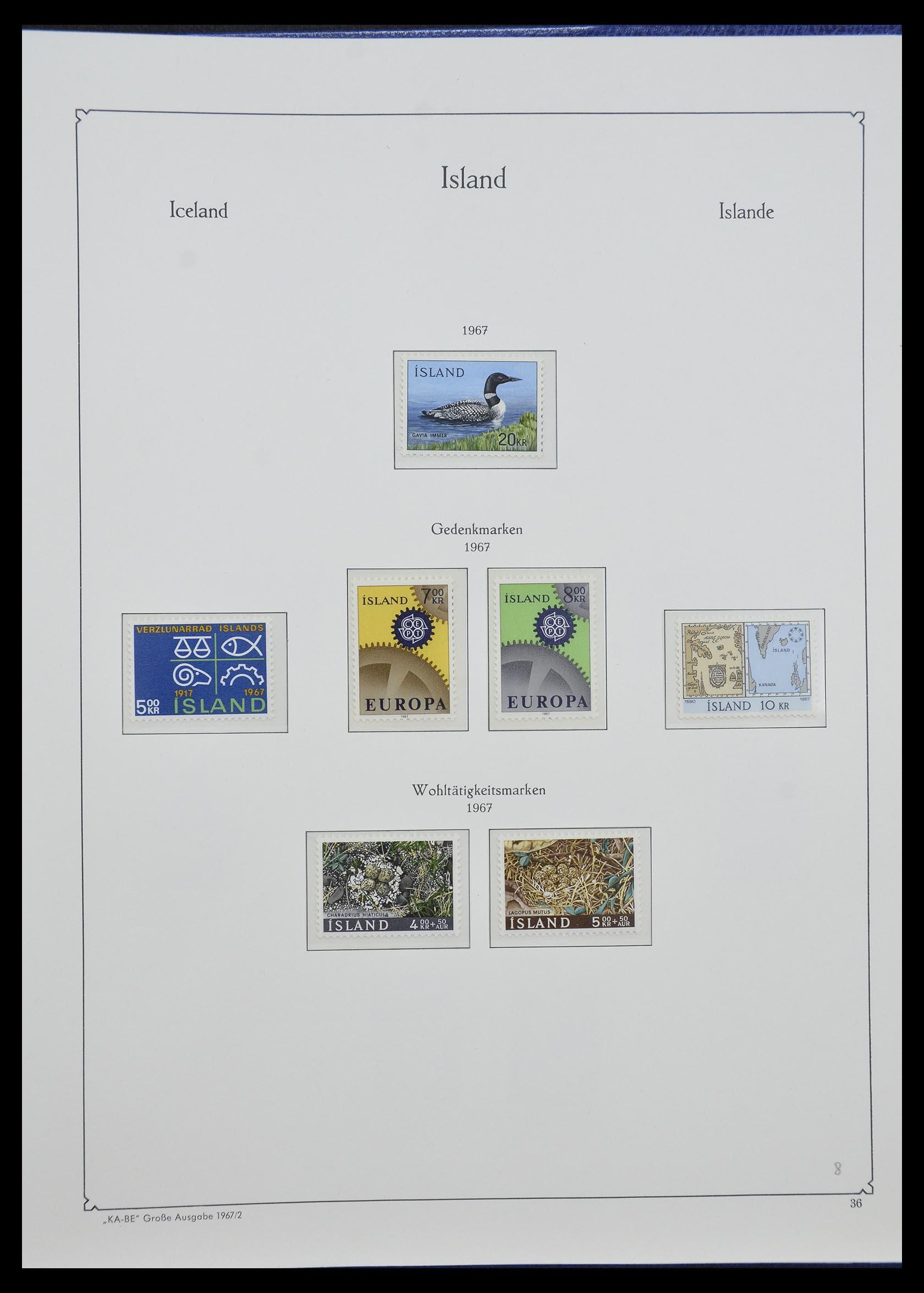 33185 019 - Postzegelverzameling 33184 Finland 1856-1990.