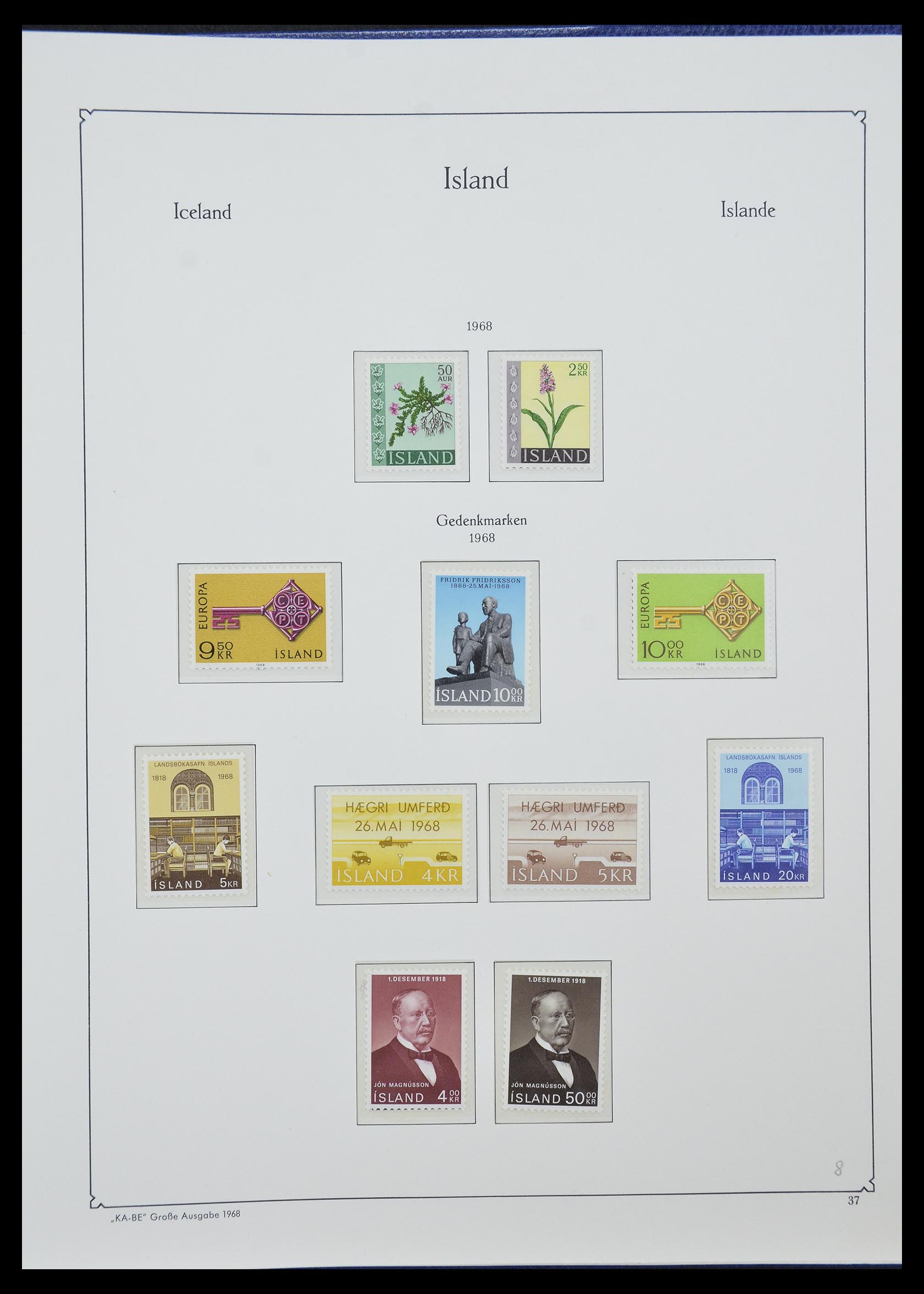 33185 020 - Postzegelverzameling 33184 Finland 1856-1990.