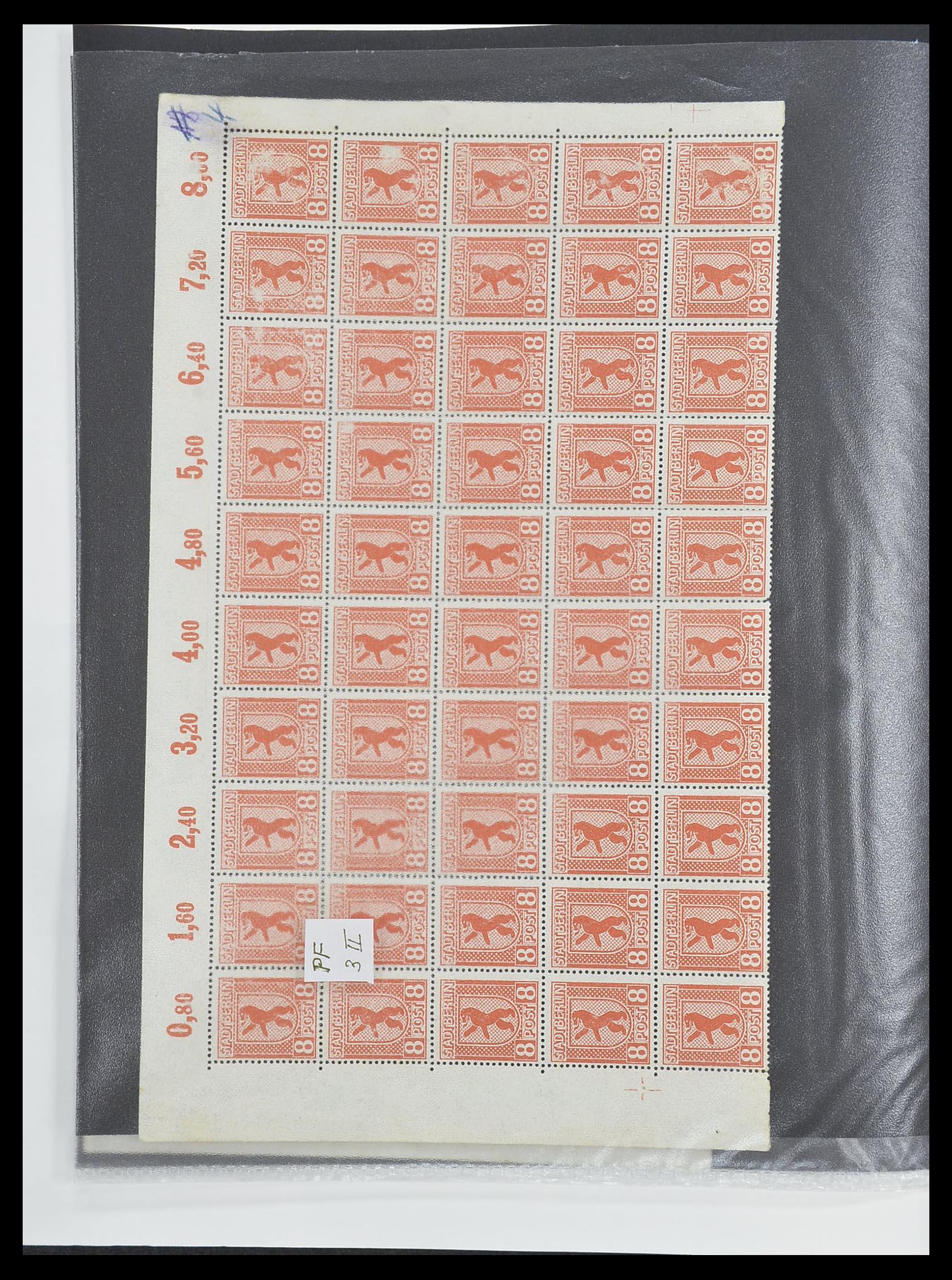 33698 006 - Postzegelverzameling 33698 Sovjet Zone 1945-1948.
