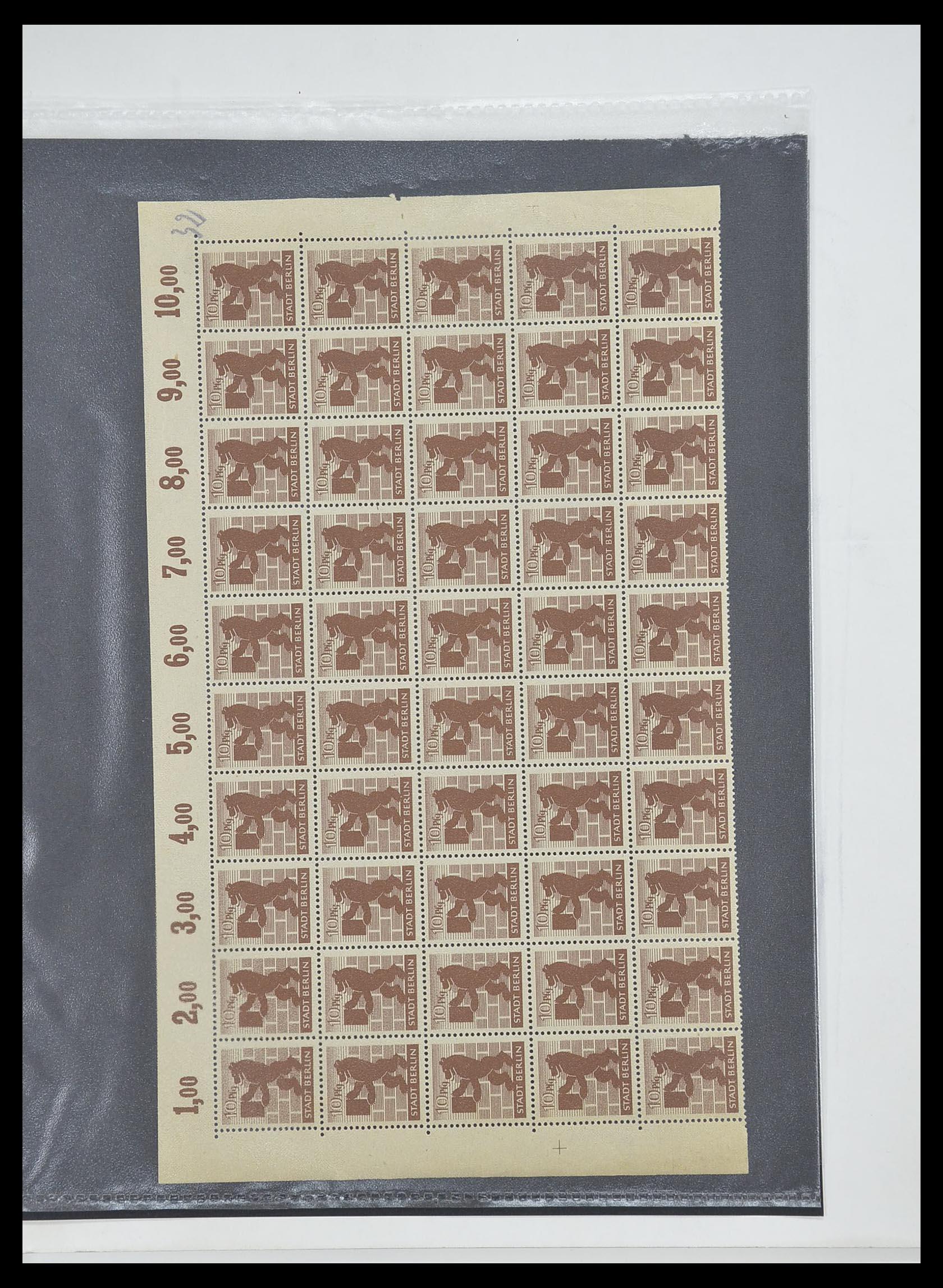 33698 007 - Postzegelverzameling 33698 Sovjet Zone 1945-1948.
