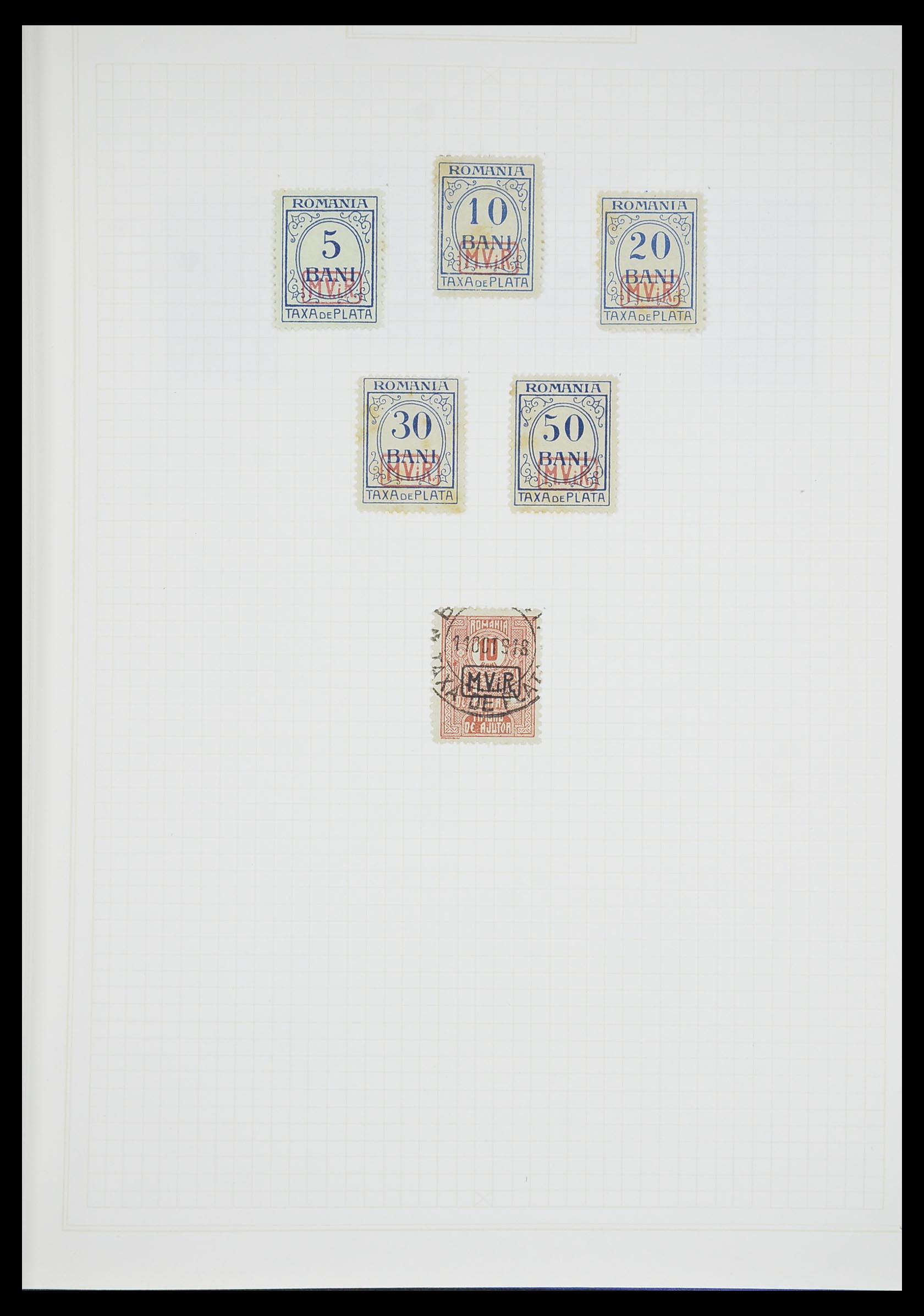 33713 010 - Postzegelverzameling 33713 Duitse bezettingen WO I en WO II 1914-1945