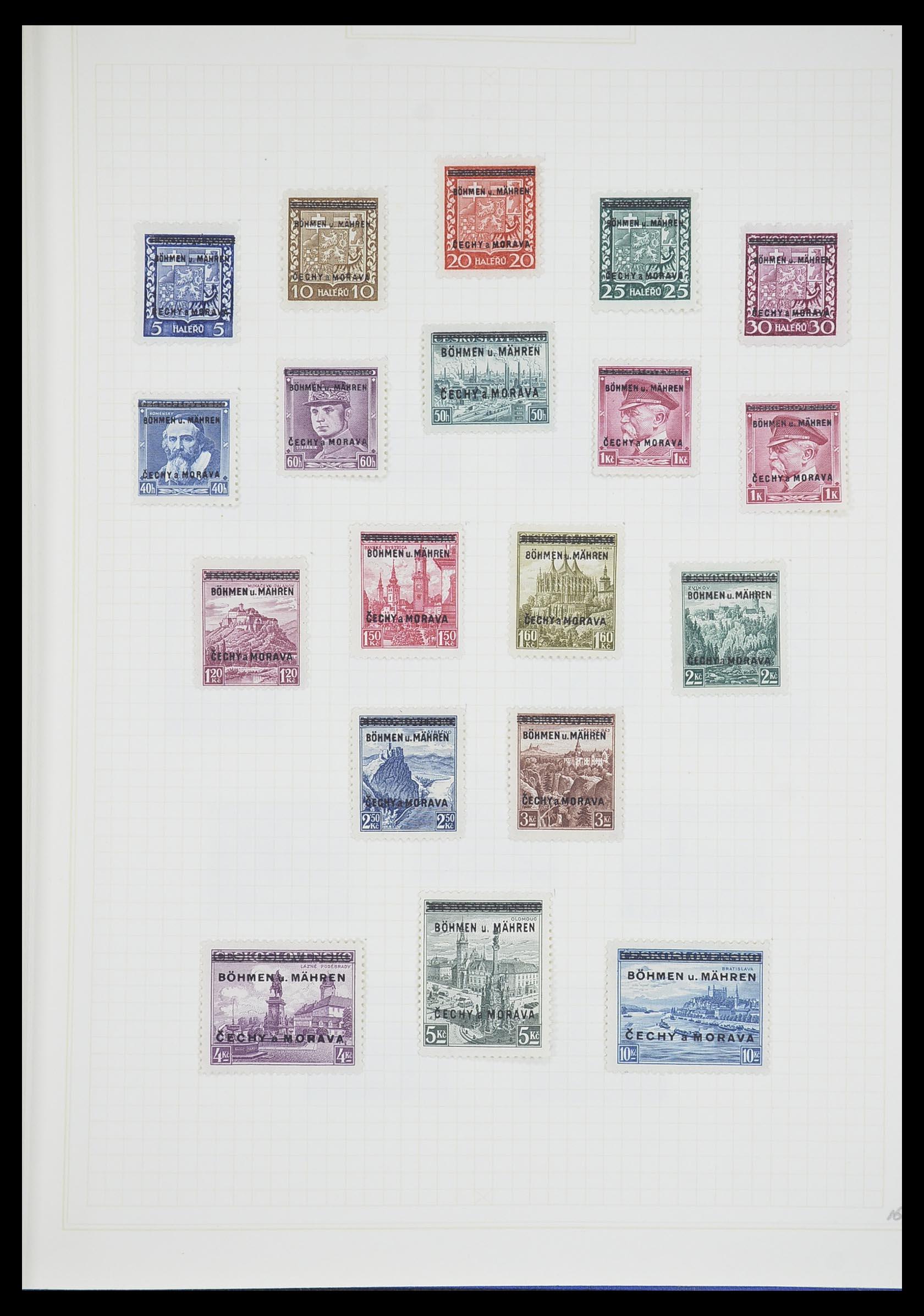 33713 012 - Postzegelverzameling 33713 Duitse bezettingen WO I en WO II 1914-1945