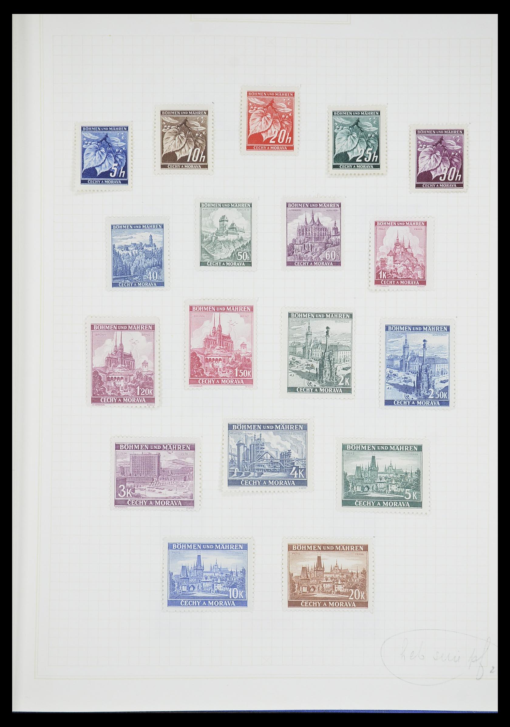 33713 013 - Postzegelverzameling 33713 Duitse bezettingen WO I en WO II 1914-1945