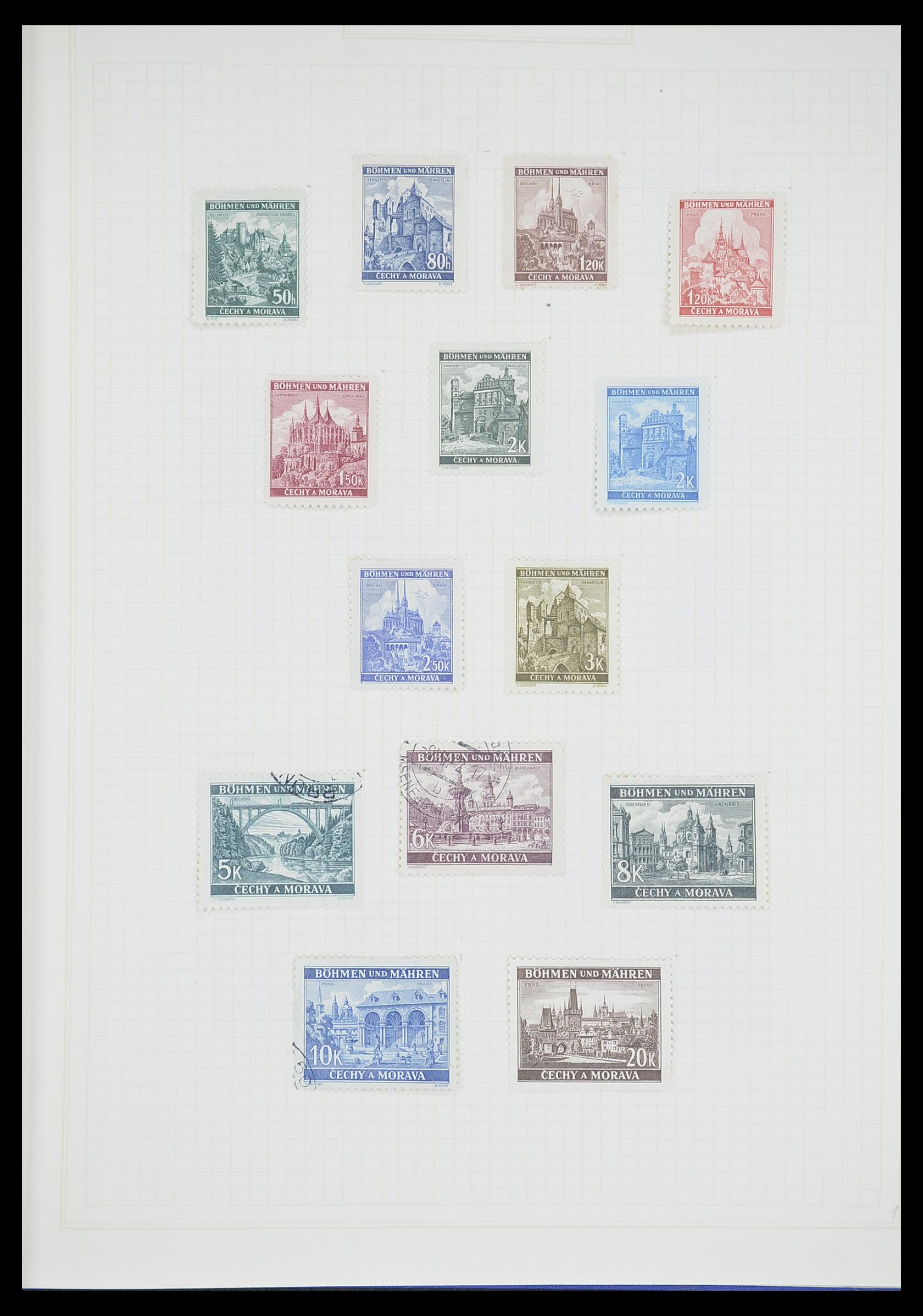 33713 015 - Postzegelverzameling 33713 Duitse bezettingen WO I en WO II 1914-1945