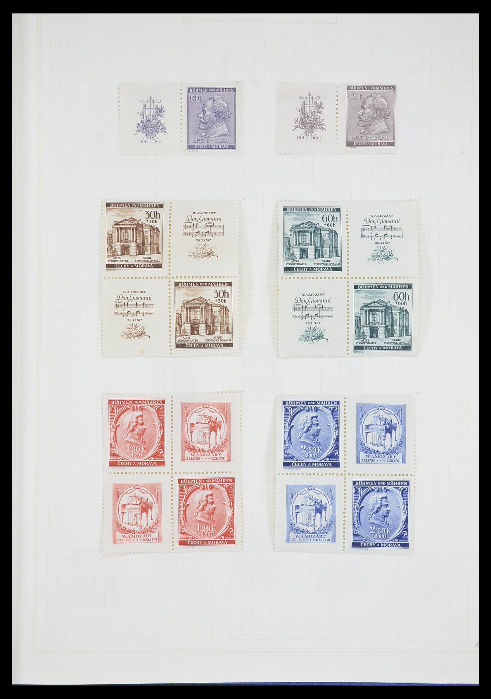 33713 016 - Postzegelverzameling 33713 Duitse bezettingen WO I en WO II 1914-1945