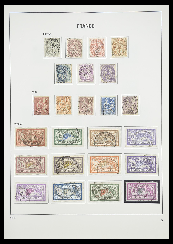 33819 008 - Postzegelverzameling 33819 Frankrijk 1849-1988.