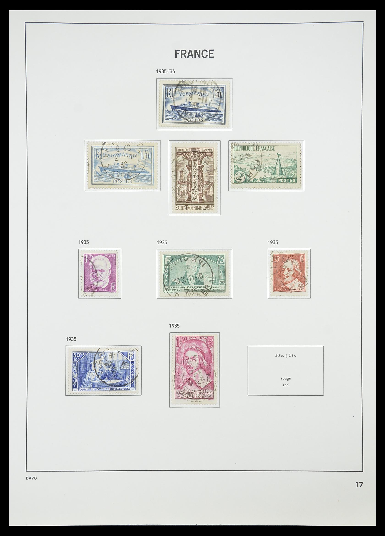 33819 019 - Postzegelverzameling 33819 Frankrijk 1849-1988.