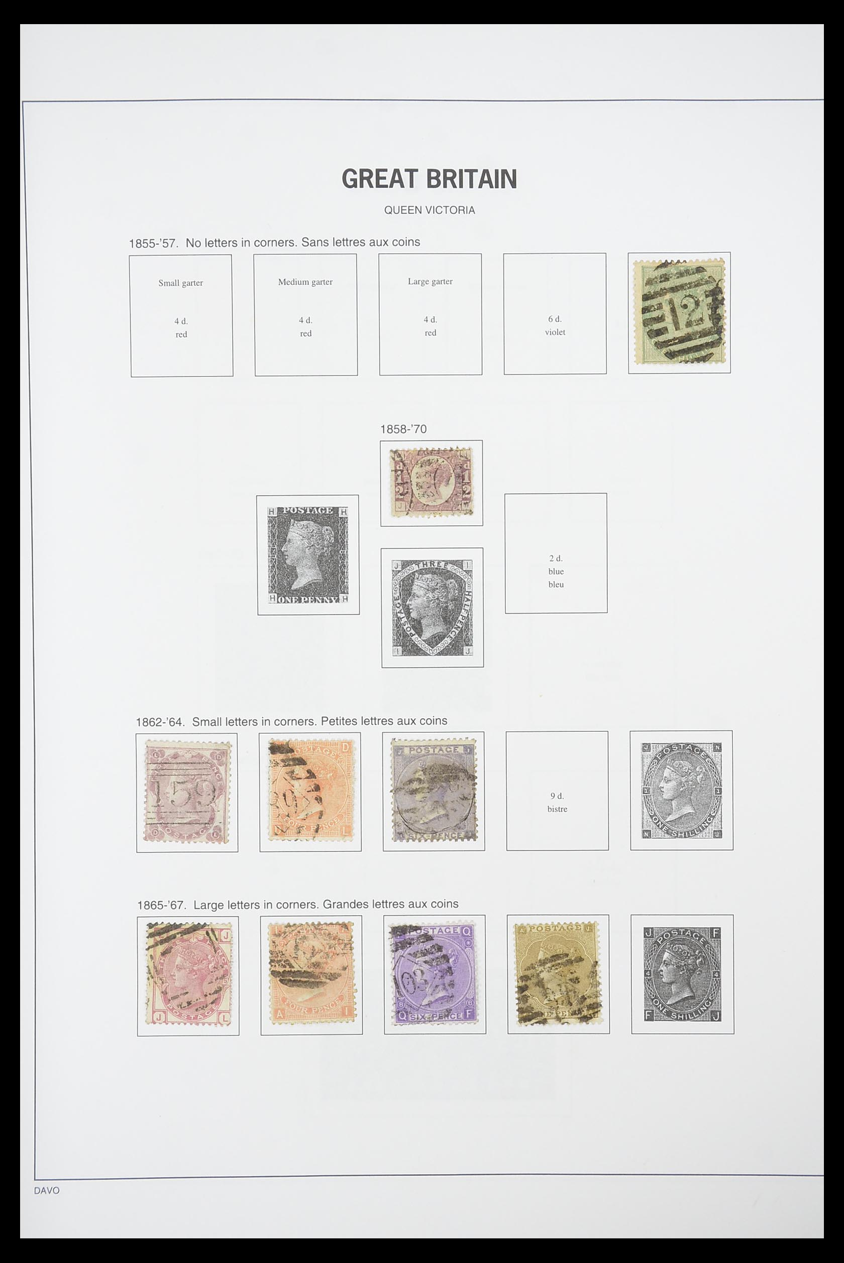 33898 002 - Stamp collection 33898 Great Britain 1840-2006.
