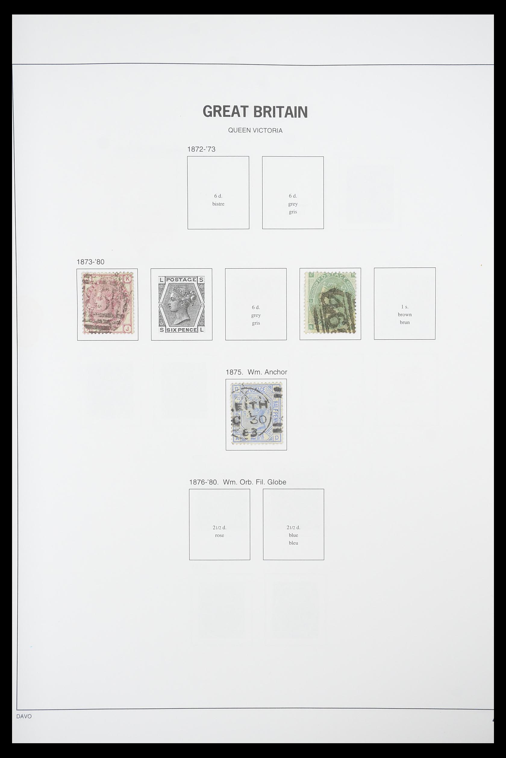 33898 003 - Stamp collection 33898 Great Britain 1840-2006.