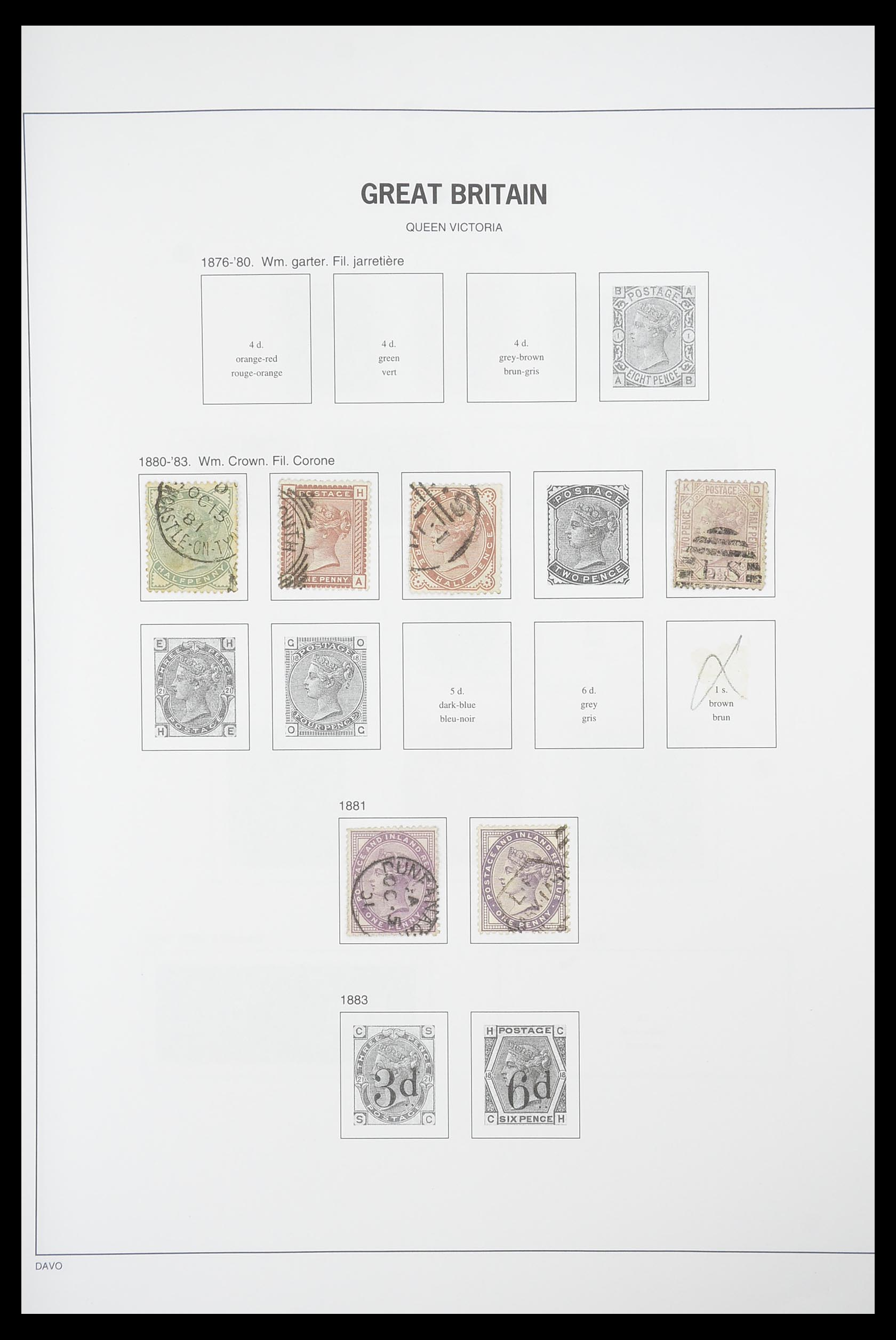33898 004 - Stamp collection 33898 Great Britain 1840-2006.