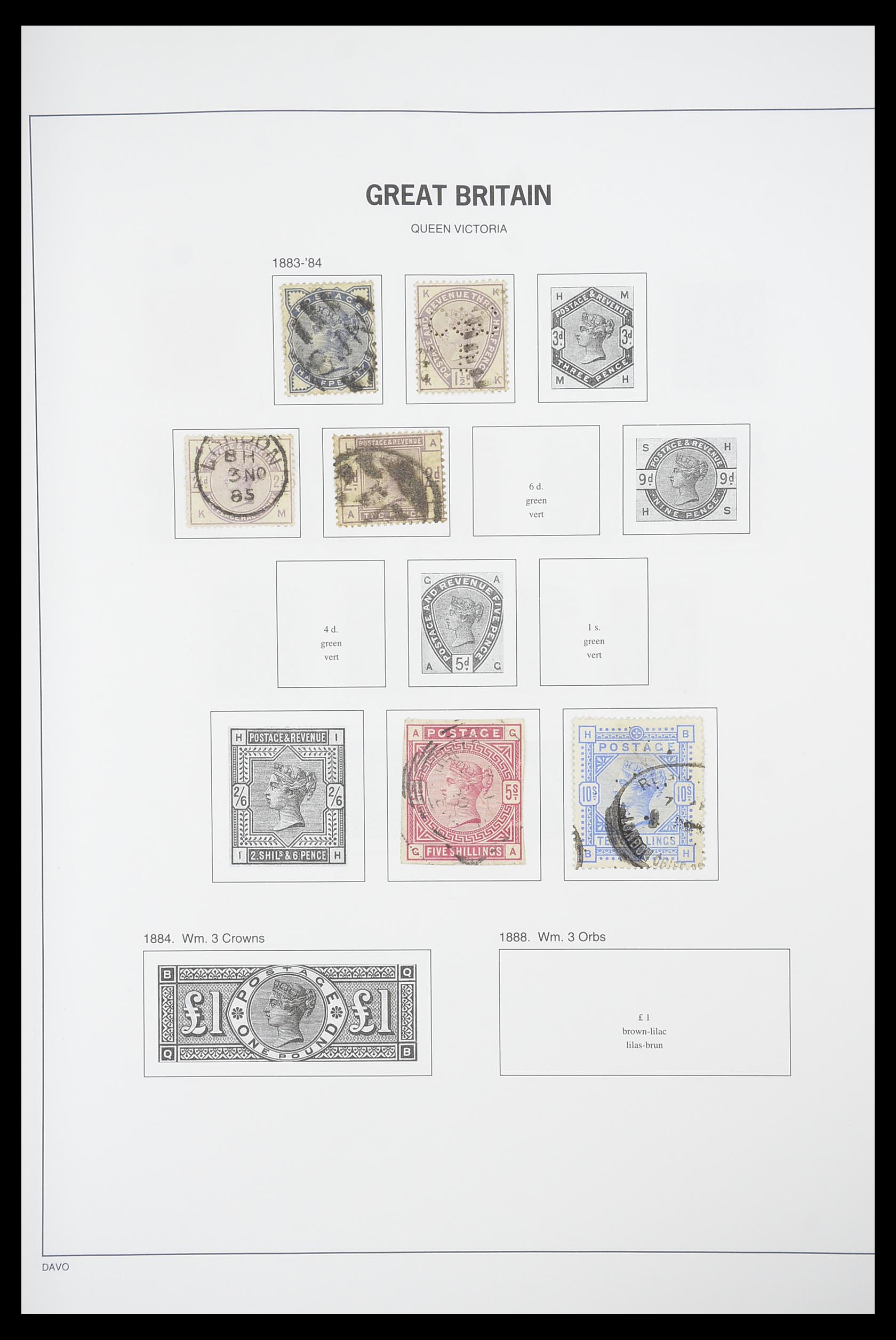 33898 005 - Stamp collection 33898 Great Britain 1840-2006.