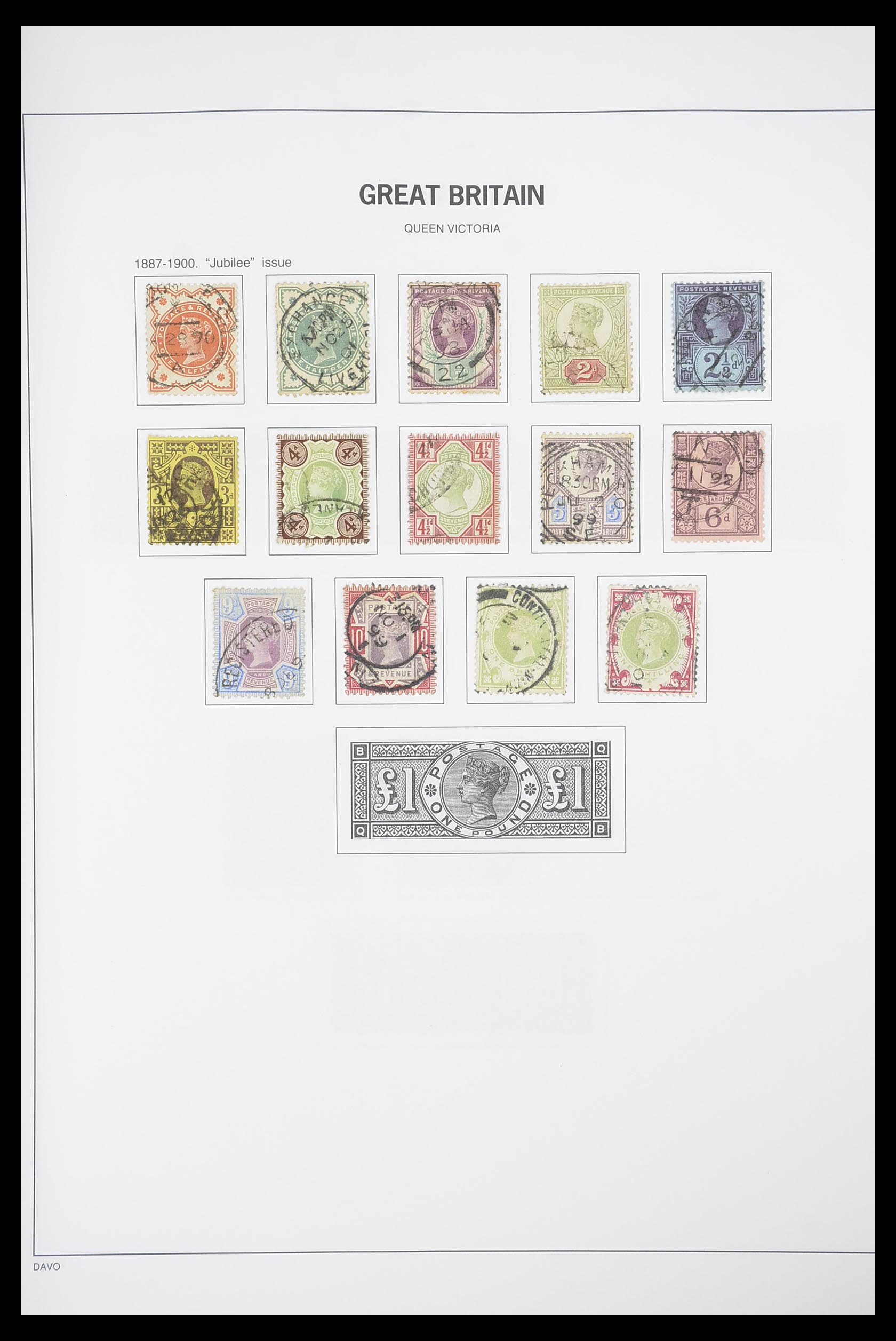 33898 006 - Stamp collection 33898 Great Britain 1840-2006.