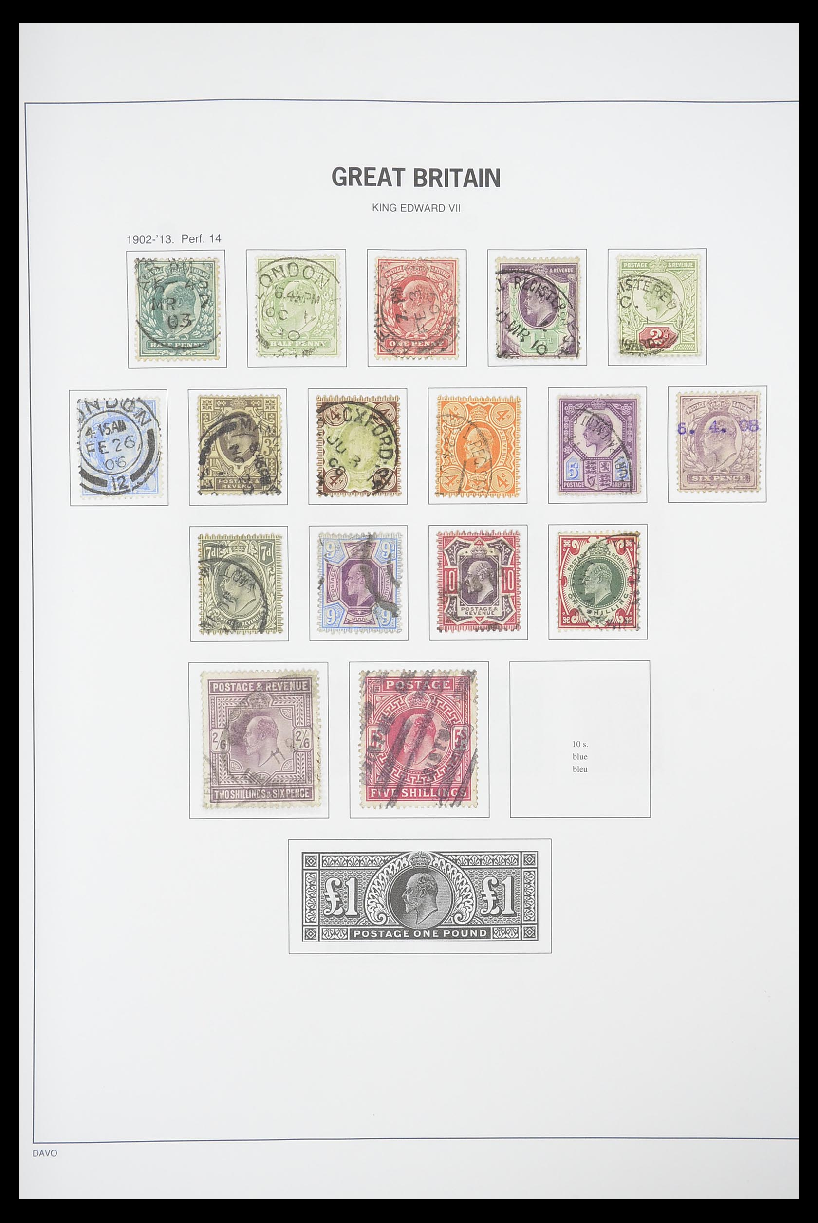 33898 007 - Stamp collection 33898 Great Britain 1840-2006.