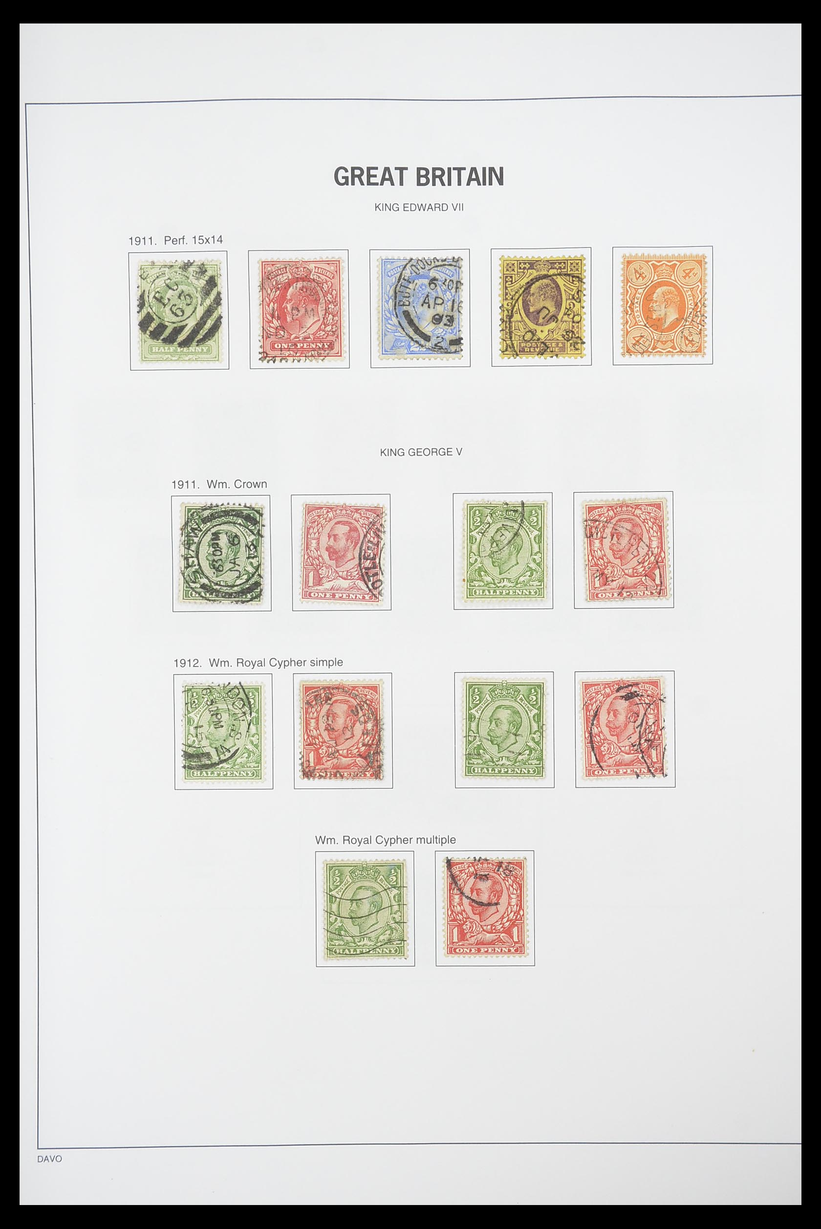 33898 008 - Stamp collection 33898 Great Britain 1840-2006.