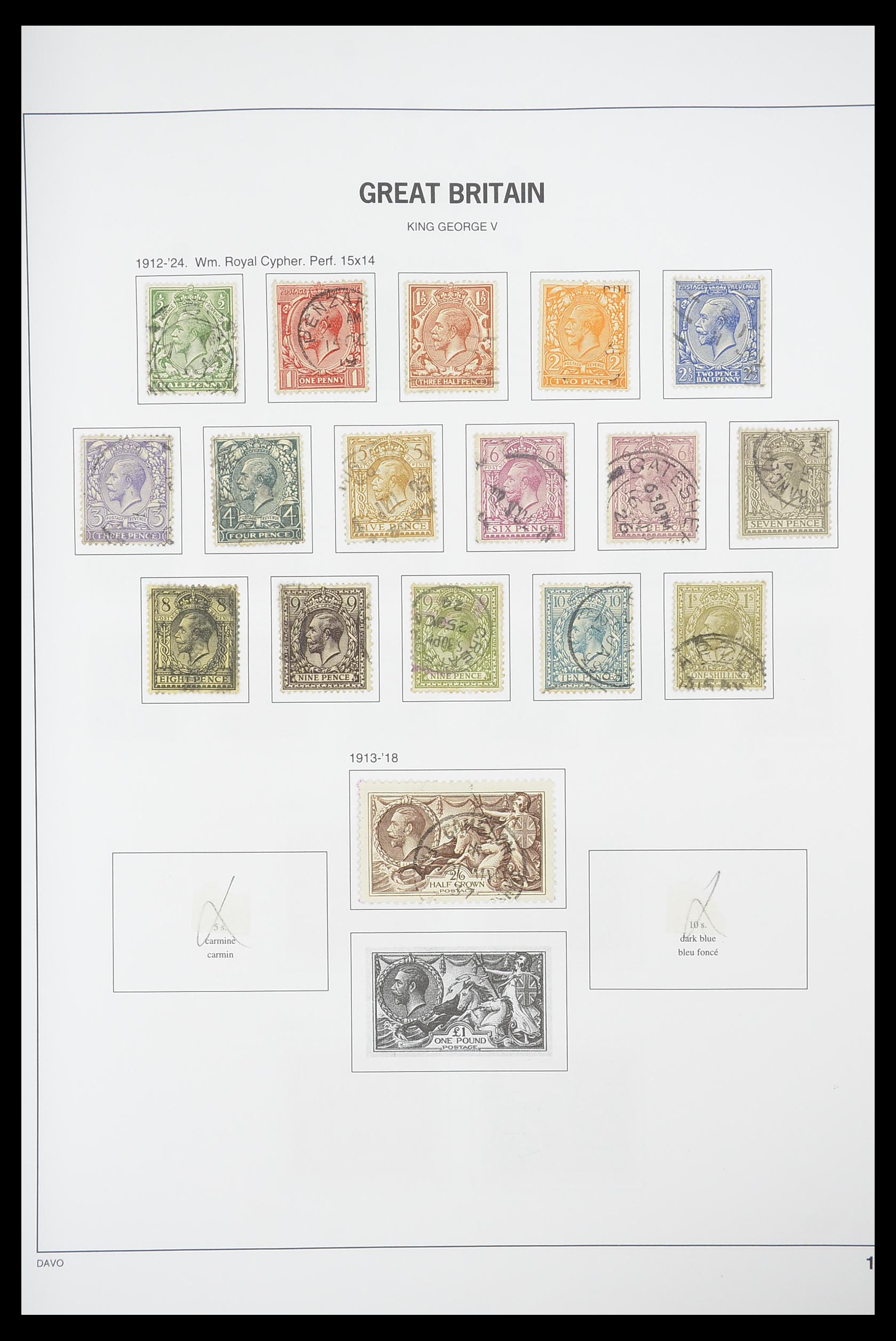 33898 009 - Stamp collection 33898 Great Britain 1840-2006.
