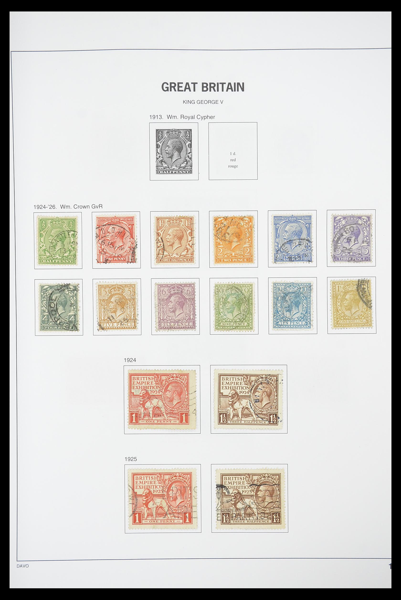 33898 010 - Stamp collection 33898 Great Britain 1840-2006.