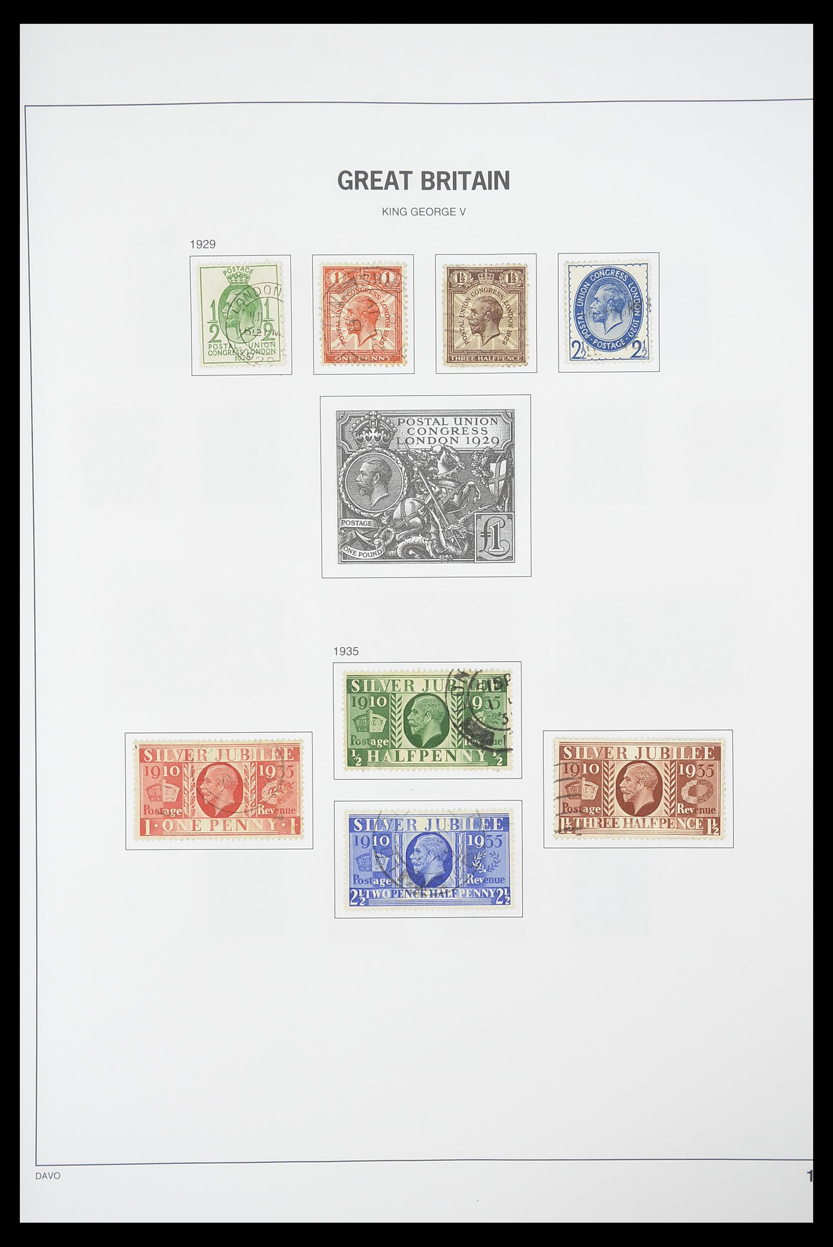 33898 011 - Stamp collection 33898 Great Britain 1840-2006.