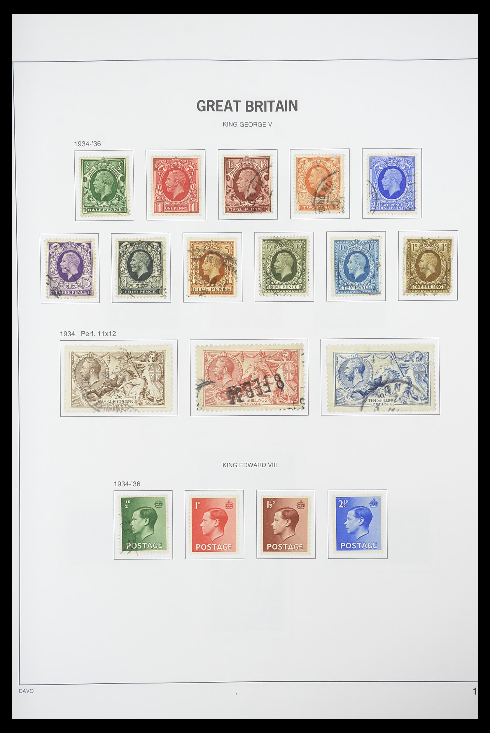 33898 012 - Stamp collection 33898 Great Britain 1840-2006.
