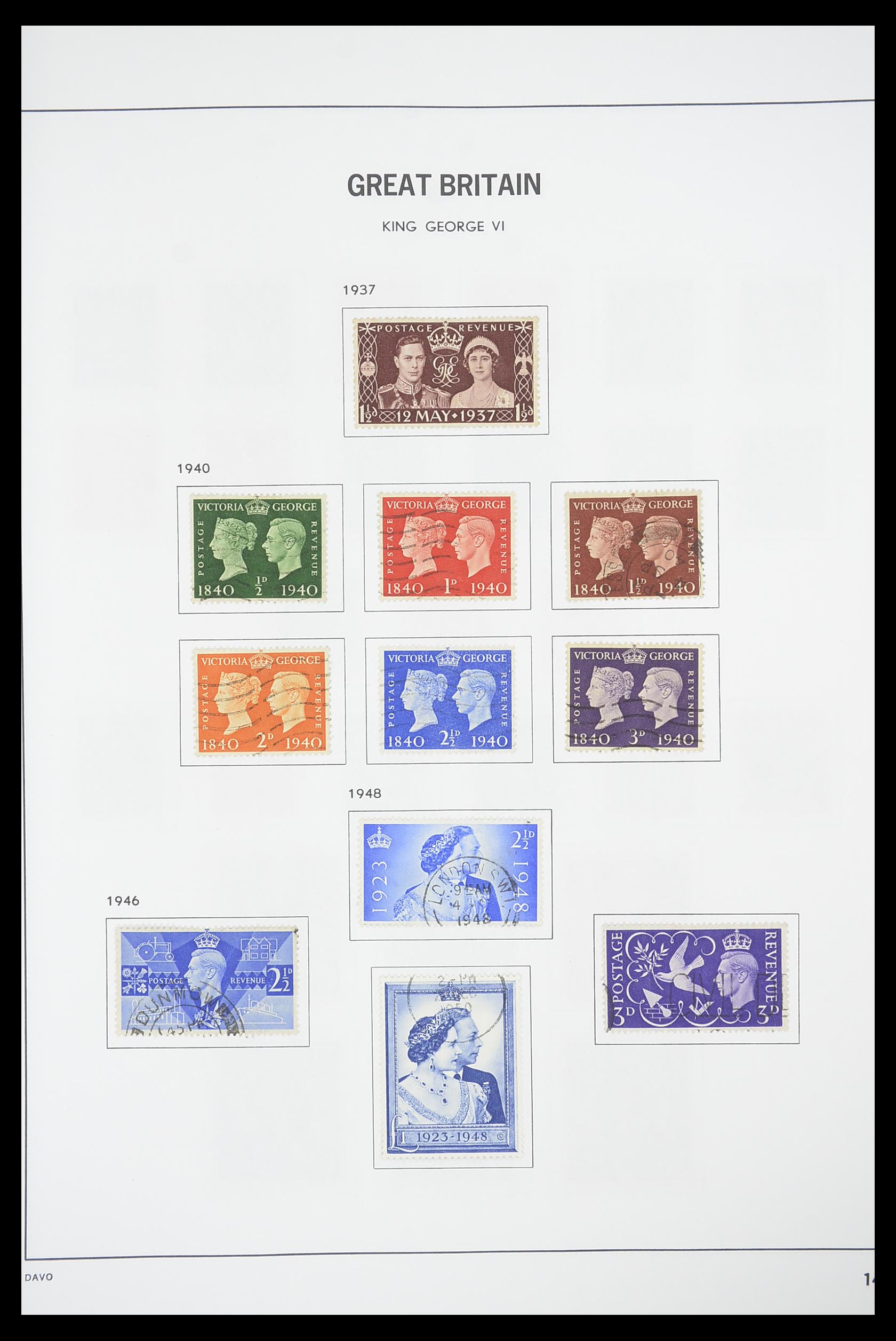 33898 013 - Stamp collection 33898 Great Britain 1840-2006.