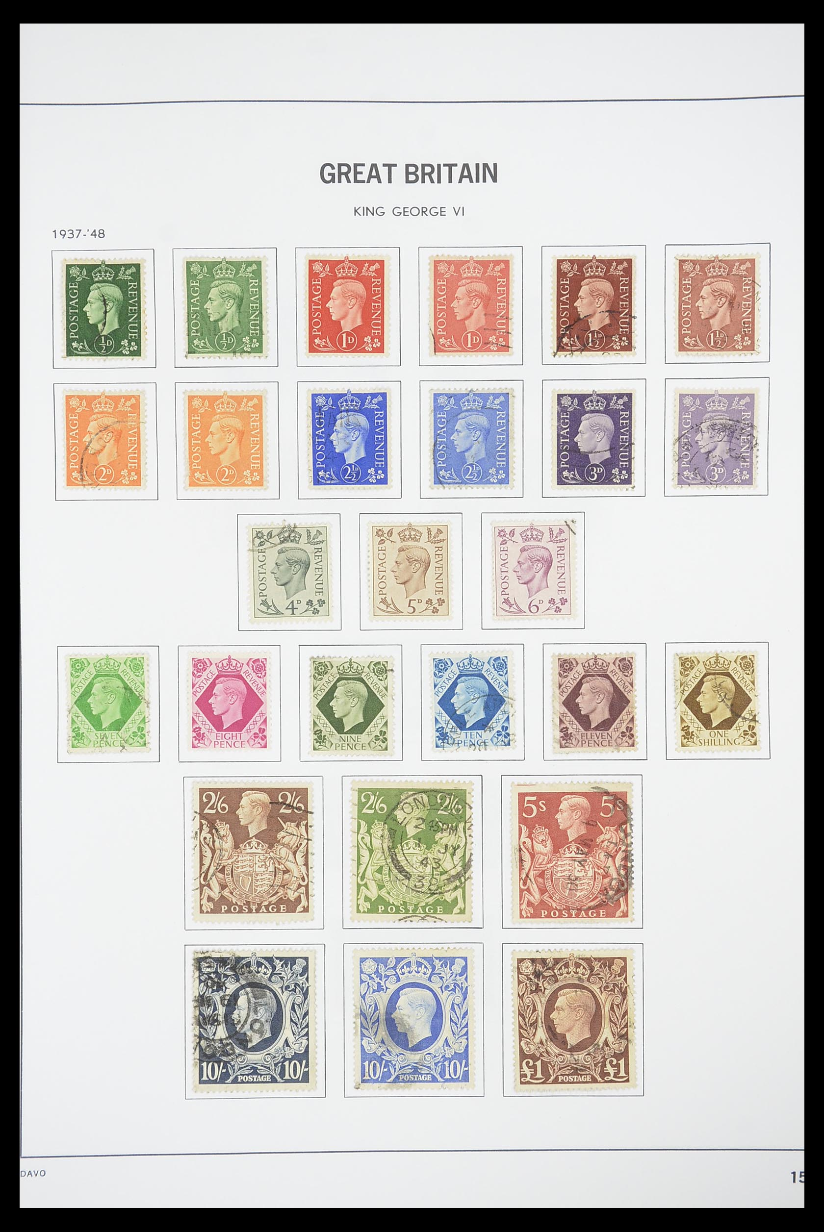 33898 014 - Stamp collection 33898 Great Britain 1840-2006.