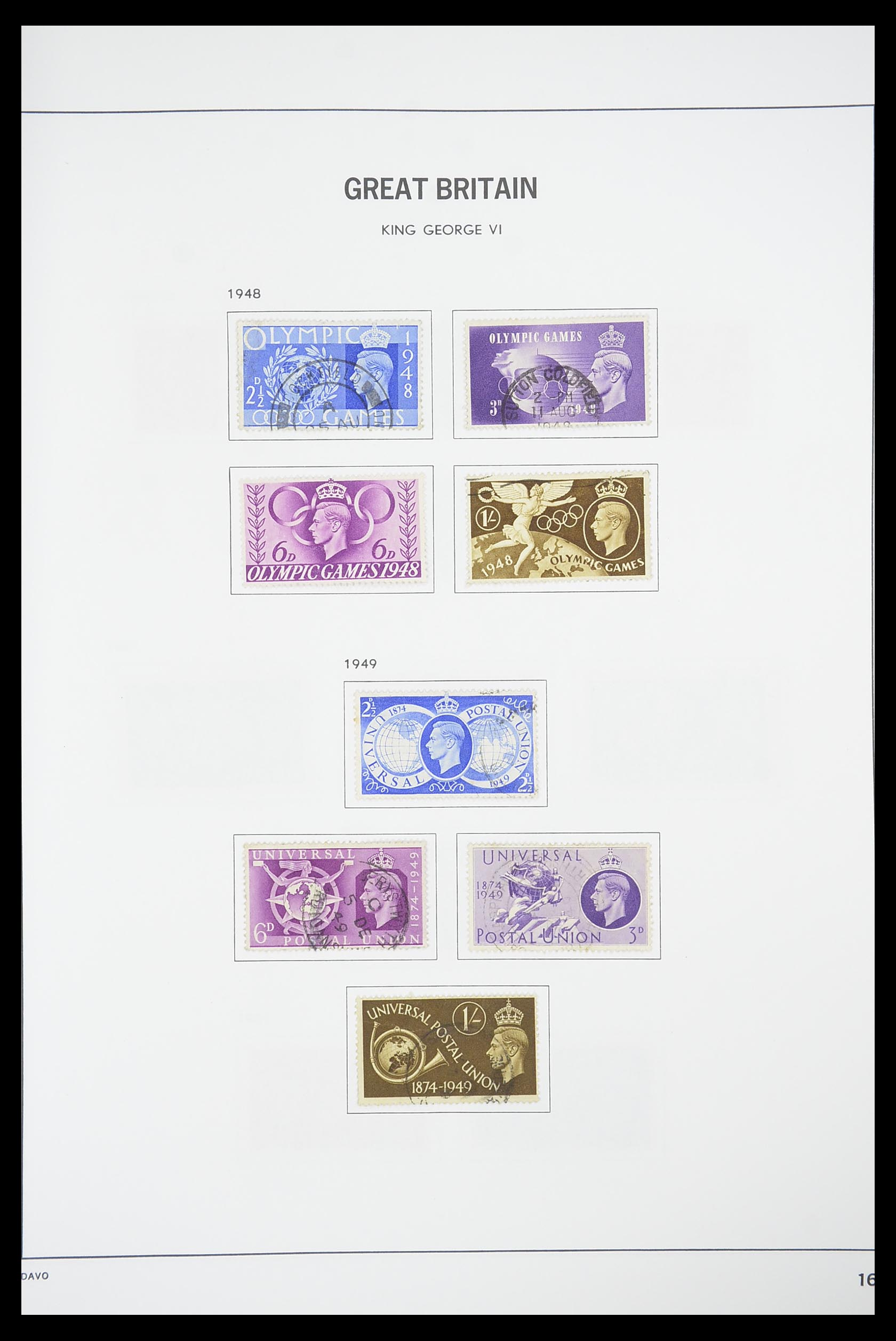 33898 015 - Stamp collection 33898 Great Britain 1840-2006.